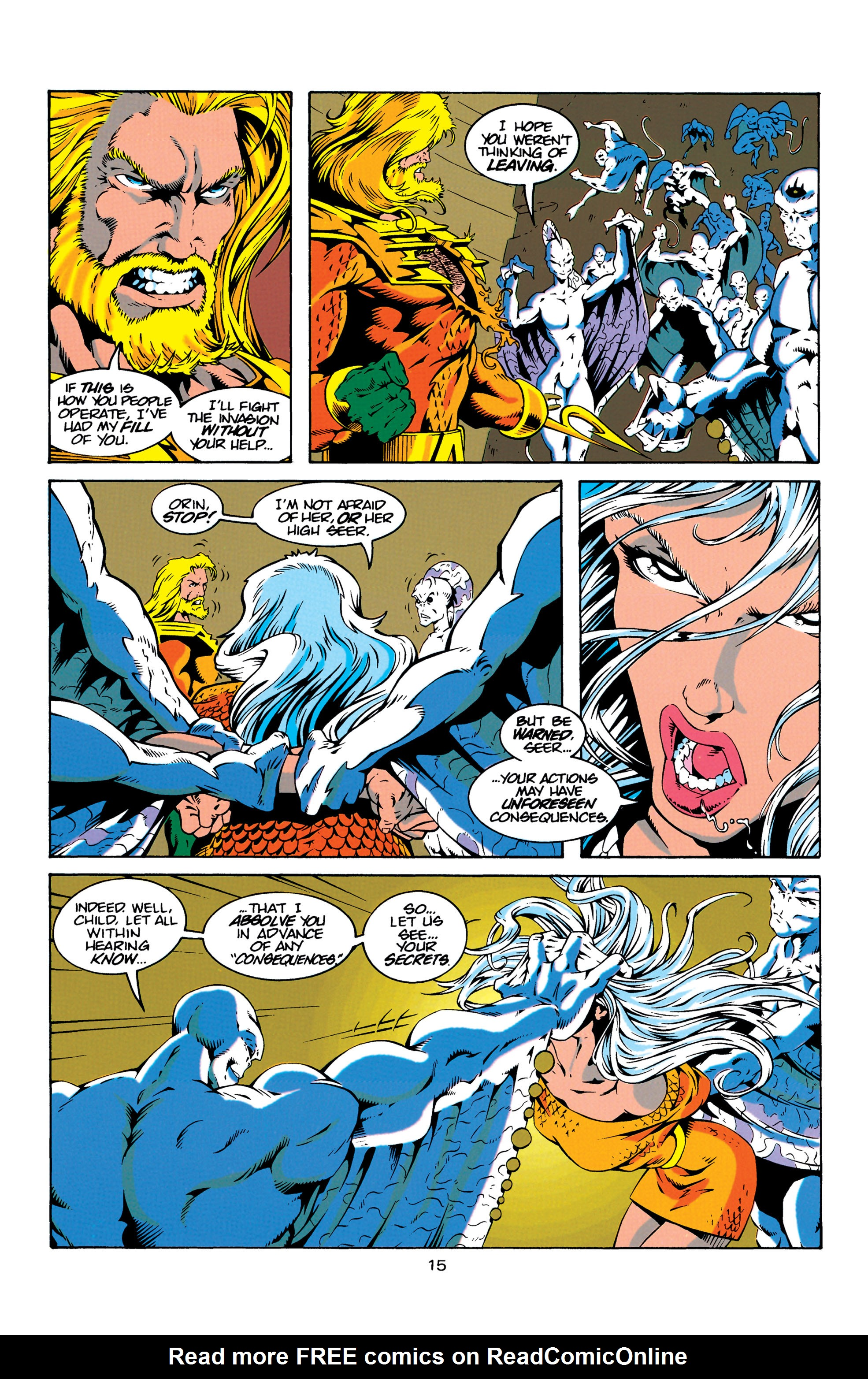 Read online Aquaman (1994) comic -  Issue #18 - 15