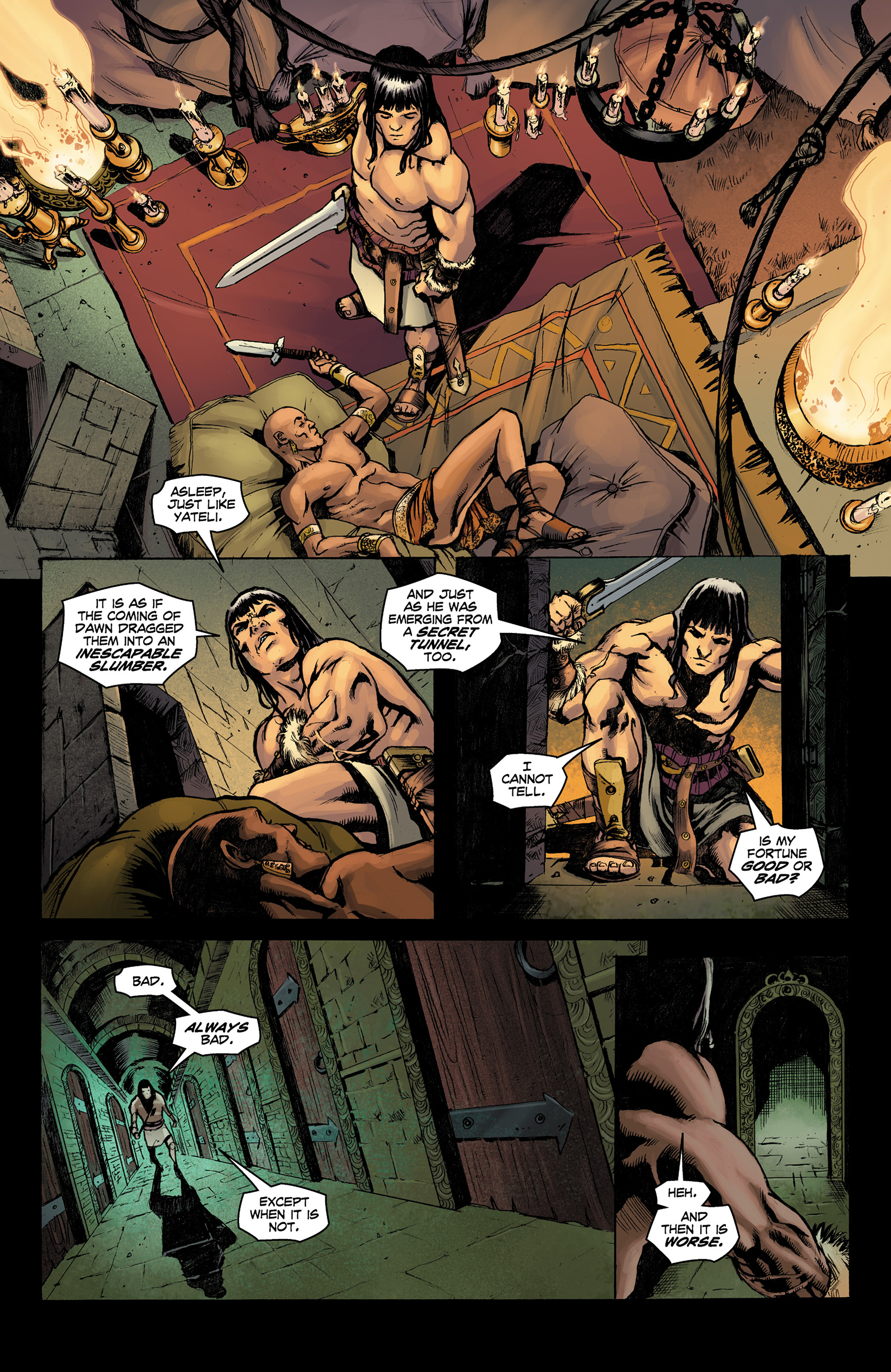 Read online Conan The Slayer comic -  Issue #9 - 12