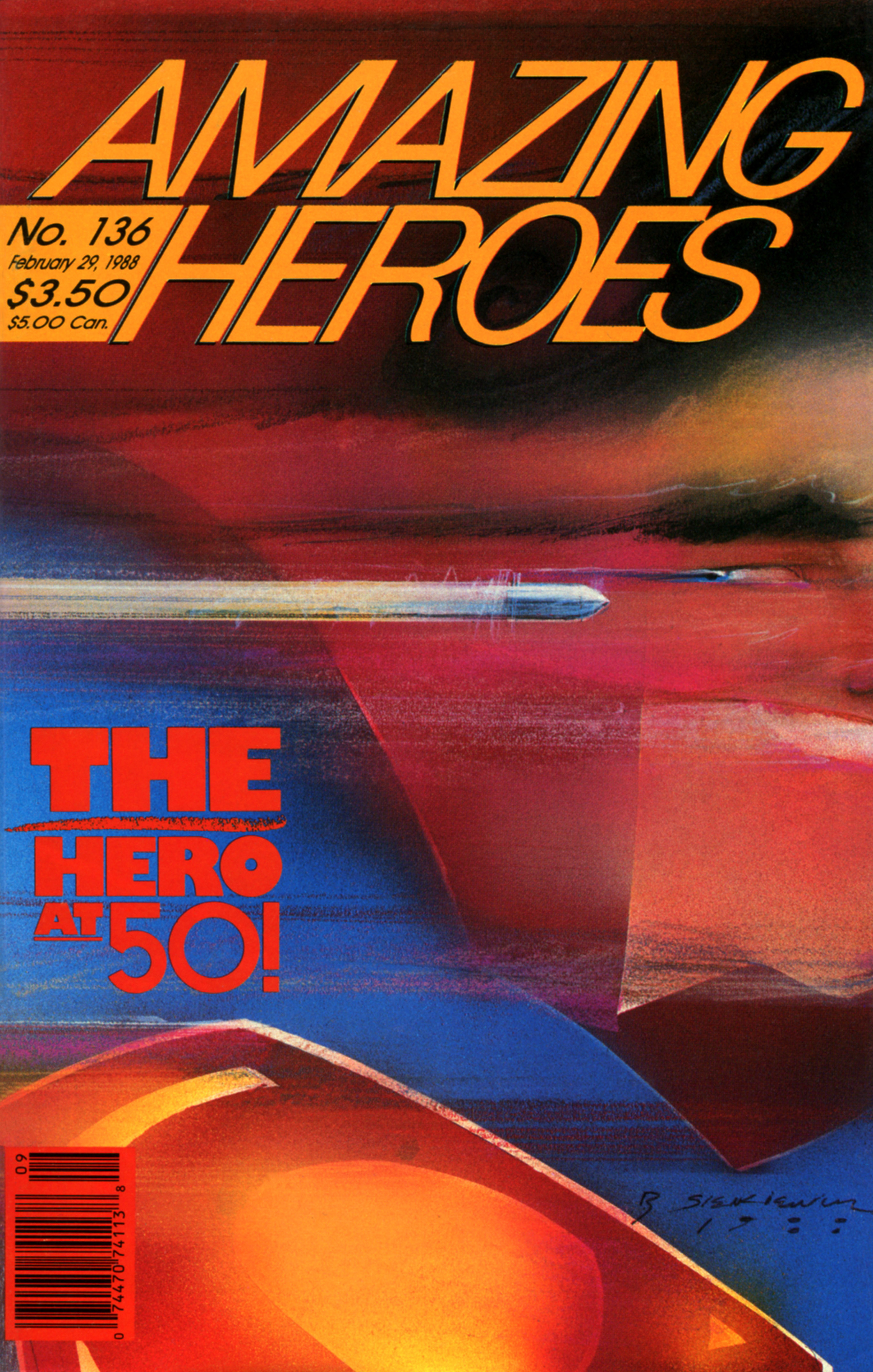 Read online Amazing Heroes comic -  Issue #136 - 1