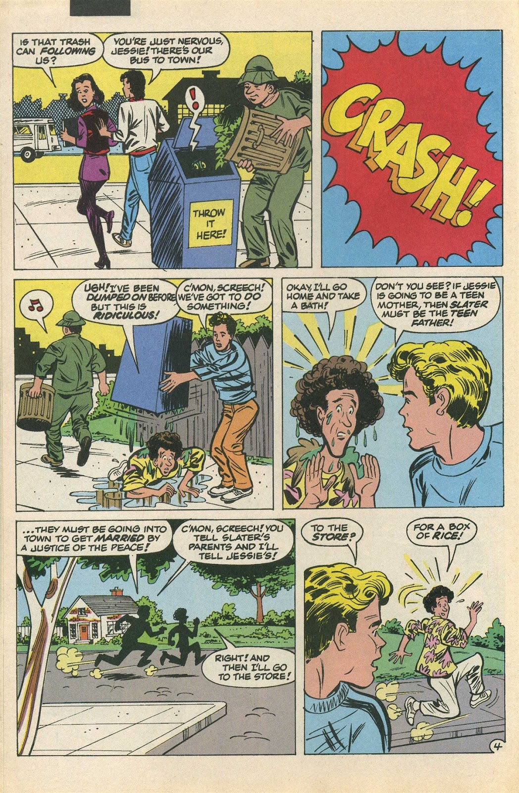 Read online Saved By The Bell comic -  Issue #3 - 23