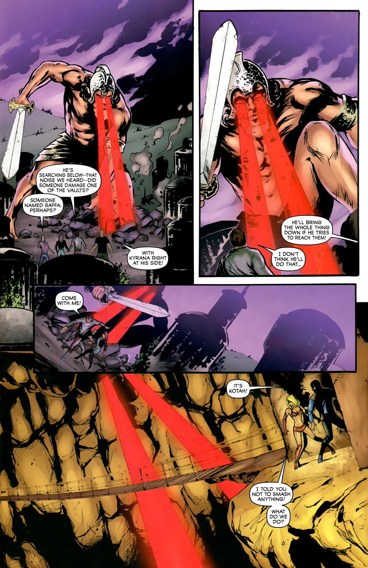 Read online Stargate: Daniel Jackson comic -  Issue #4 - 3