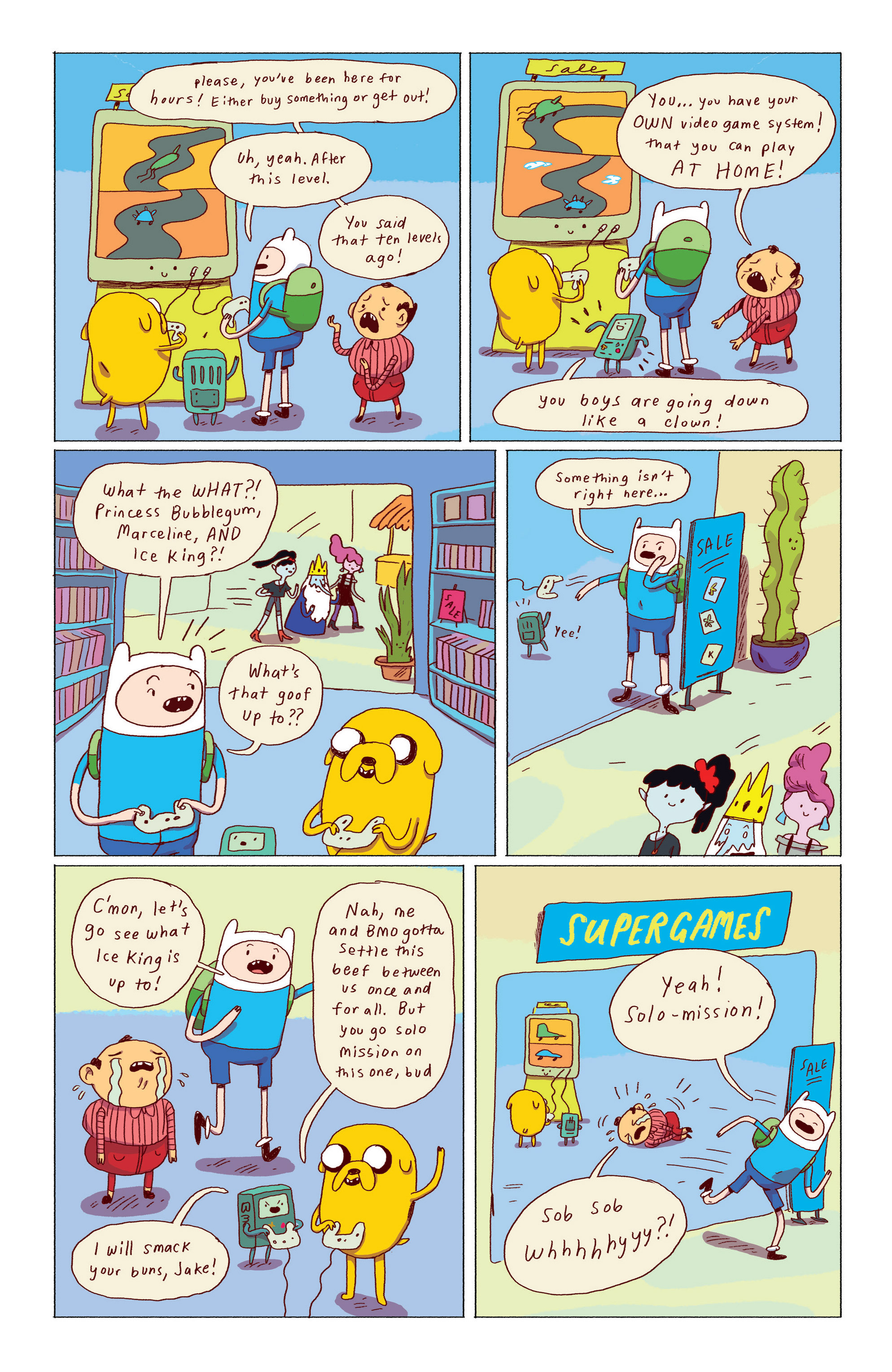 Read online Adventure Time: Ice King comic -  Issue #2 - 14