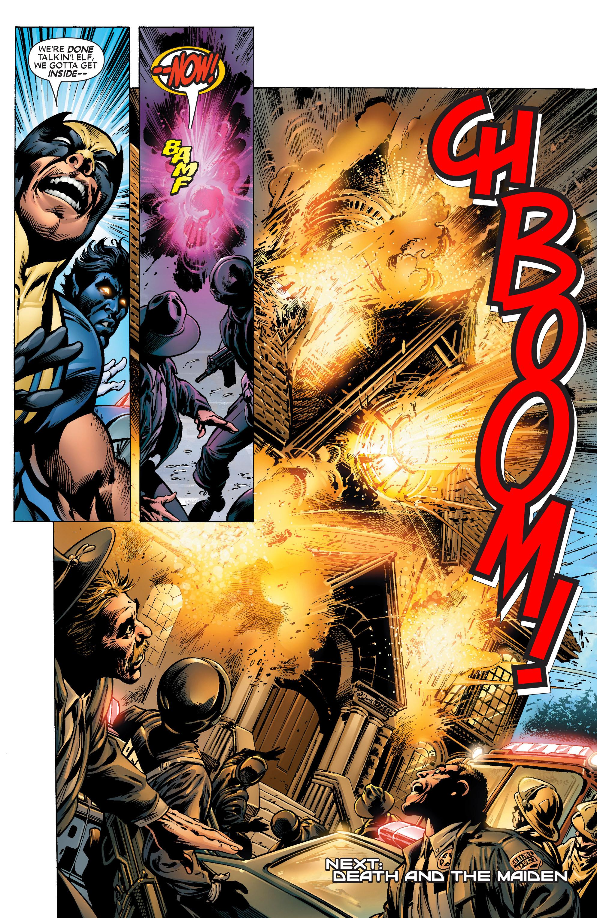 Read online Uncanny X-Men (1963) comic -  Issue #444 - 23