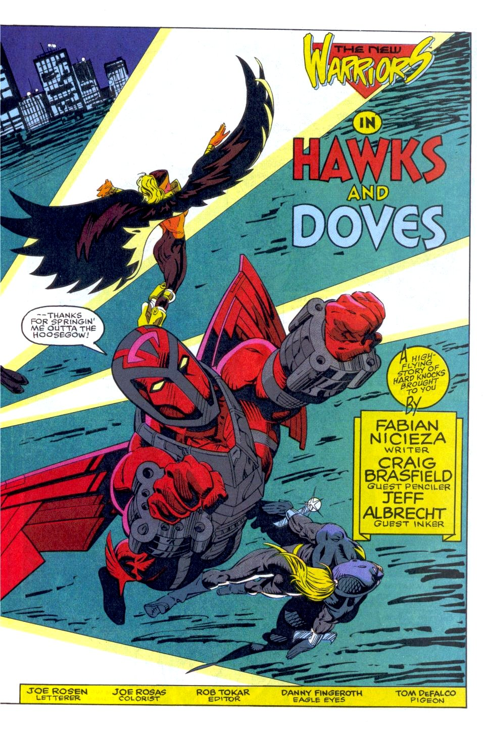 The New Warriors Issue #35 #39 - English 4
