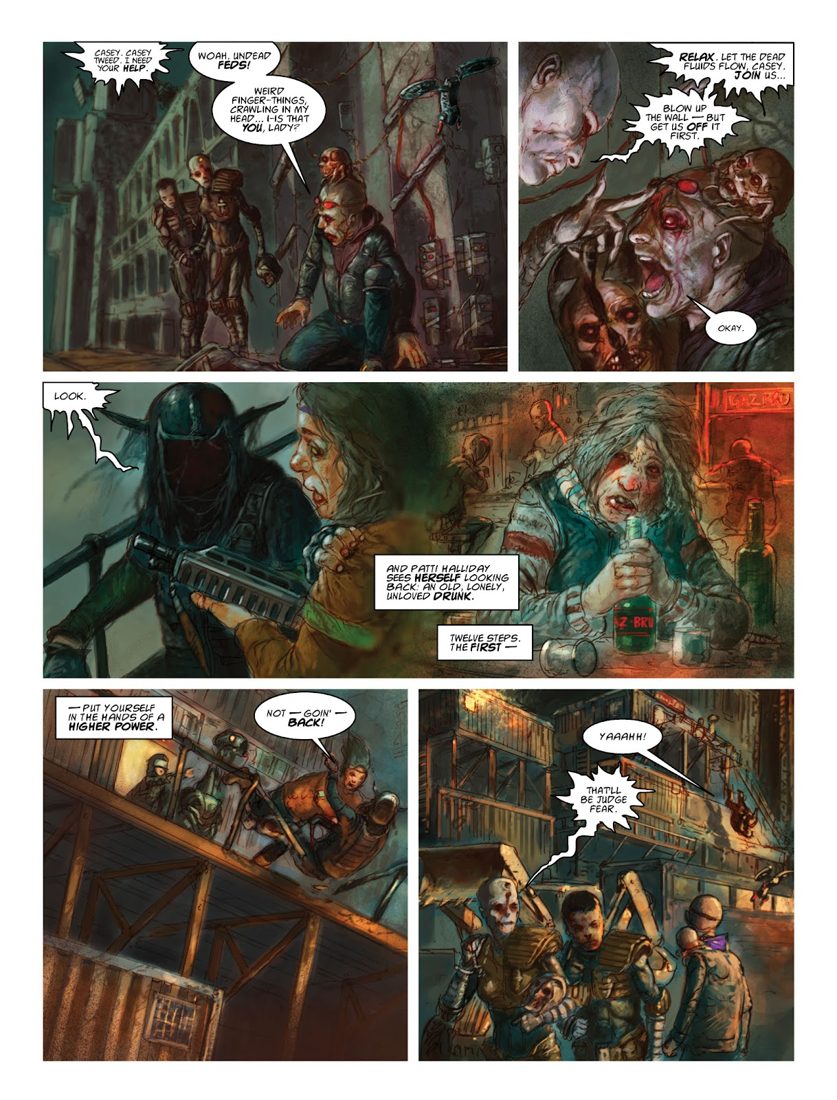 Read online 2000 AD comic -  Issue #2033 - 27