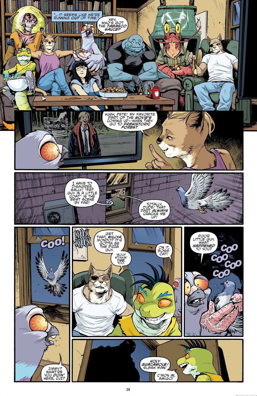 Read online Teenage Mutant Ninja Turtles: The IDW Collection comic -  Issue # TPB 9 (Part 1) - 21