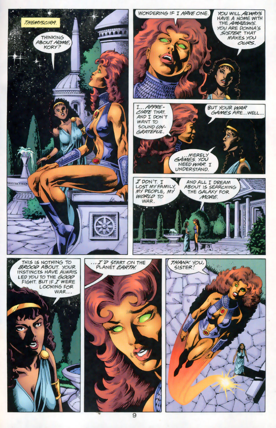 Read online The Titans (1999) comic -  Issue #45 - 10