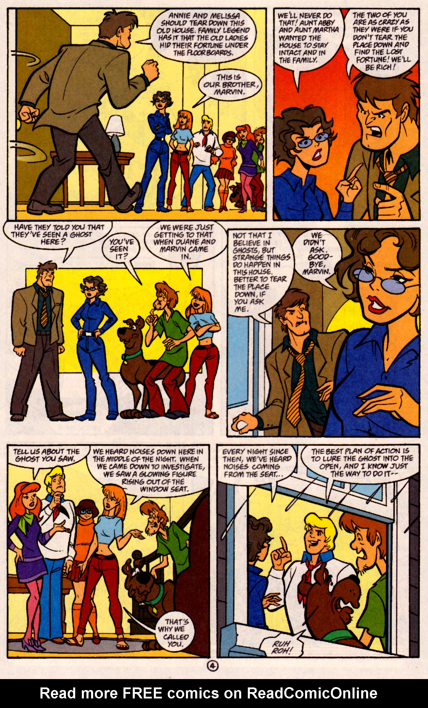 Read online Scooby-Doo (1997) comic -  Issue #31 - 17