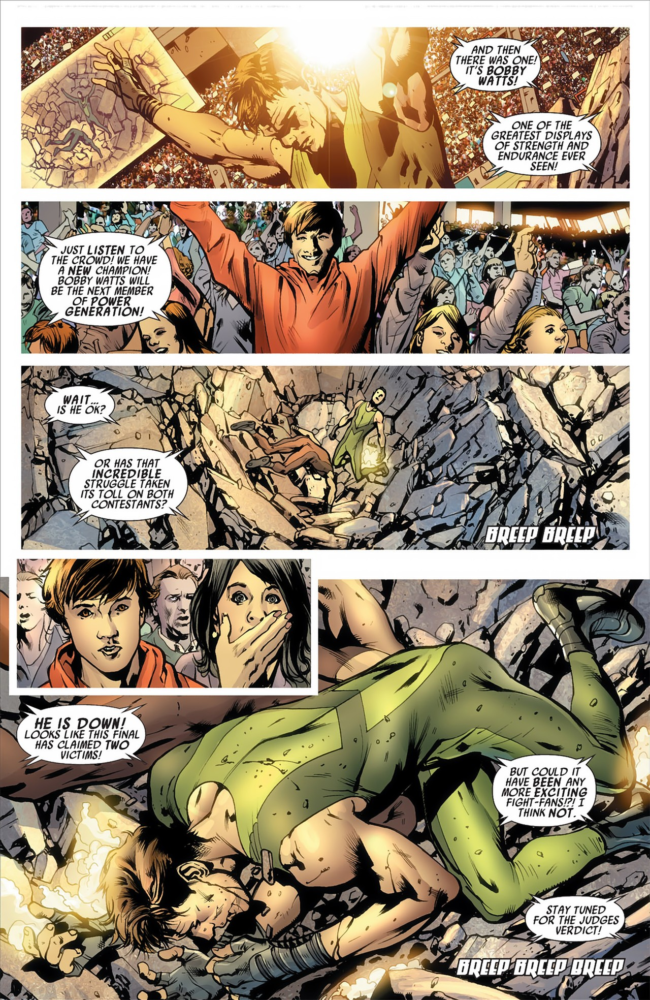 Read online America's Got Powers comic -  Issue #2 - 8