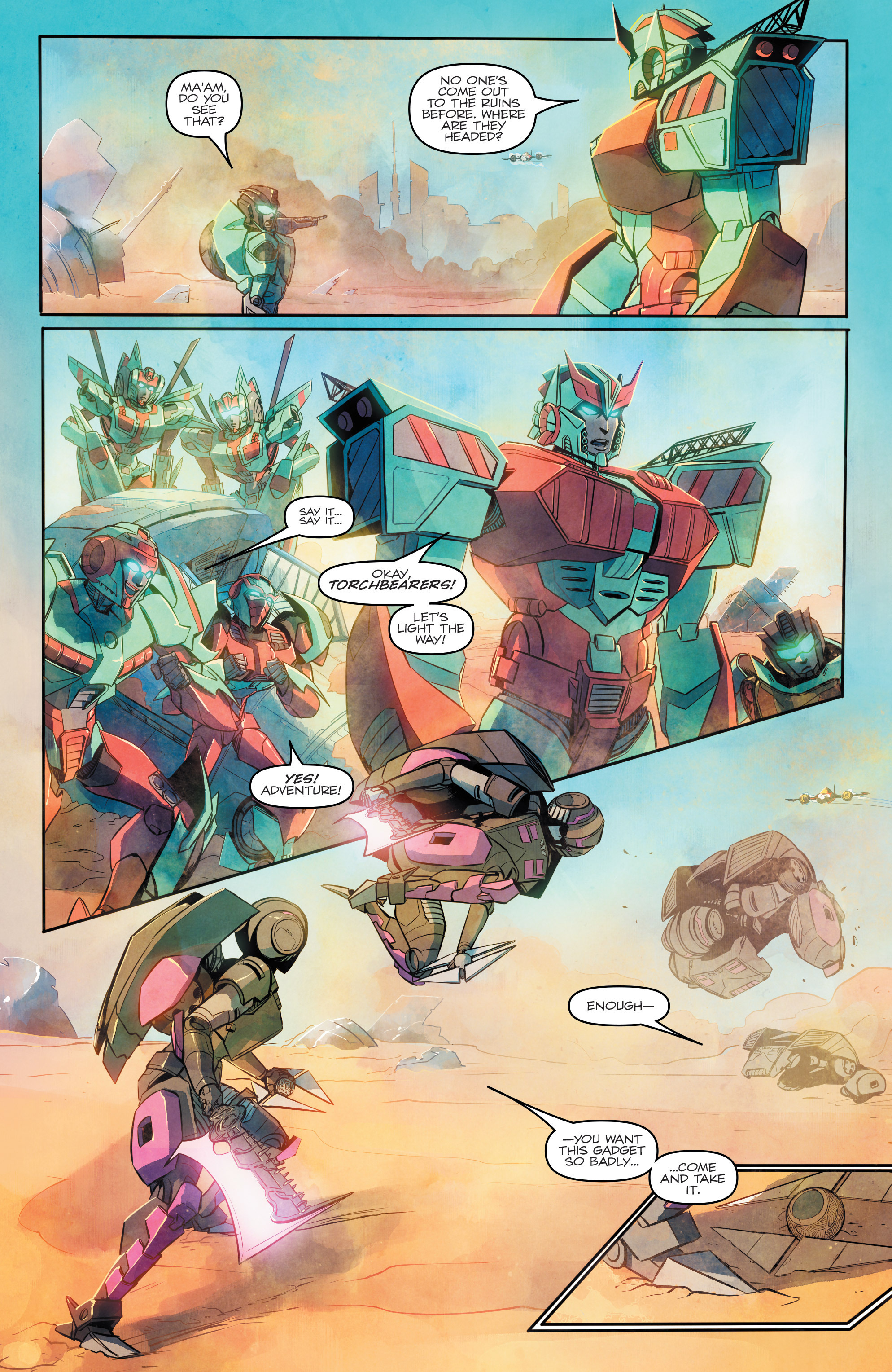 Read online Transformers: Combiner Hunters comic -  Issue # Full - 10