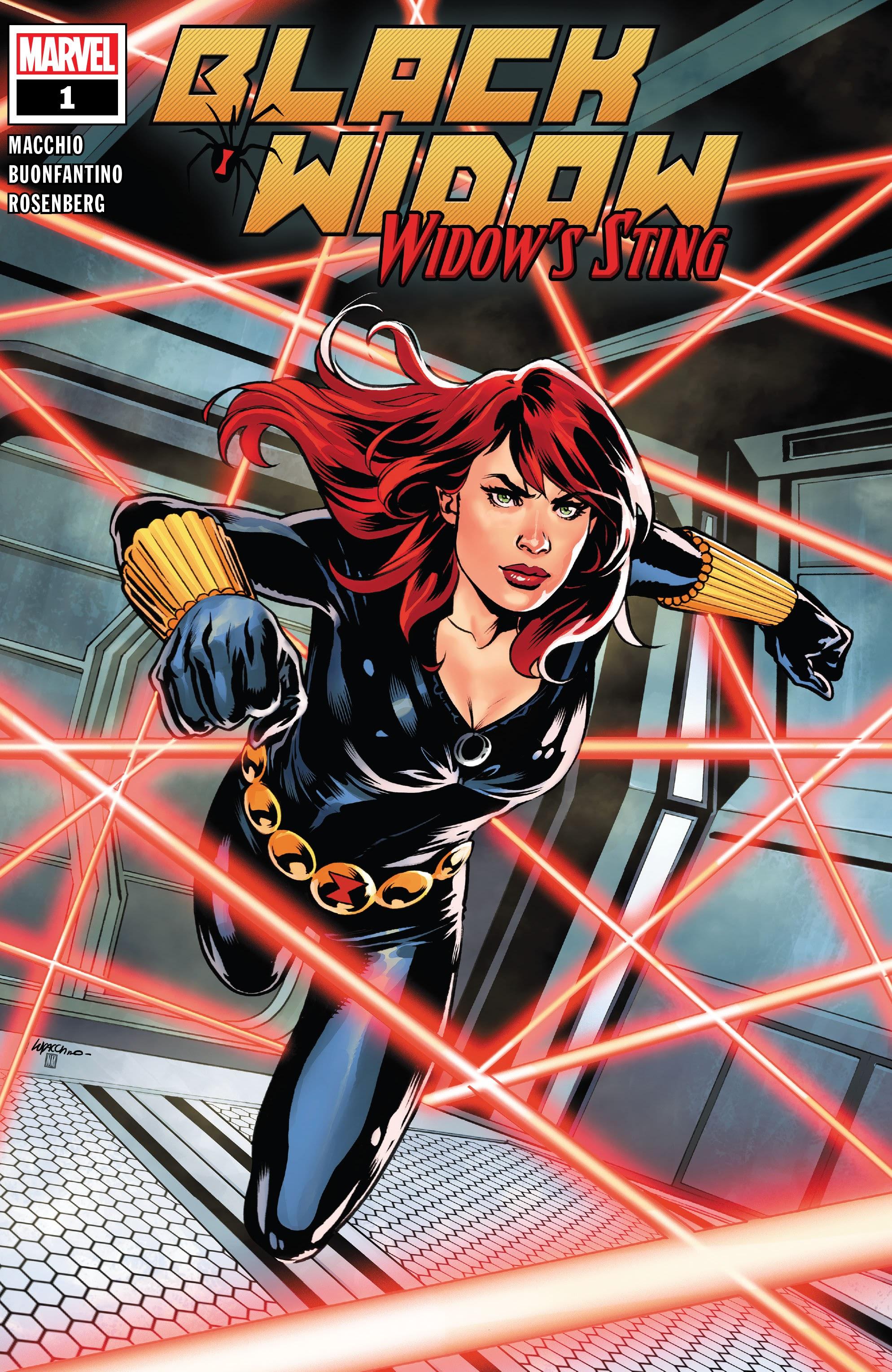 Black Widow: Widows Sting 1 Page 1