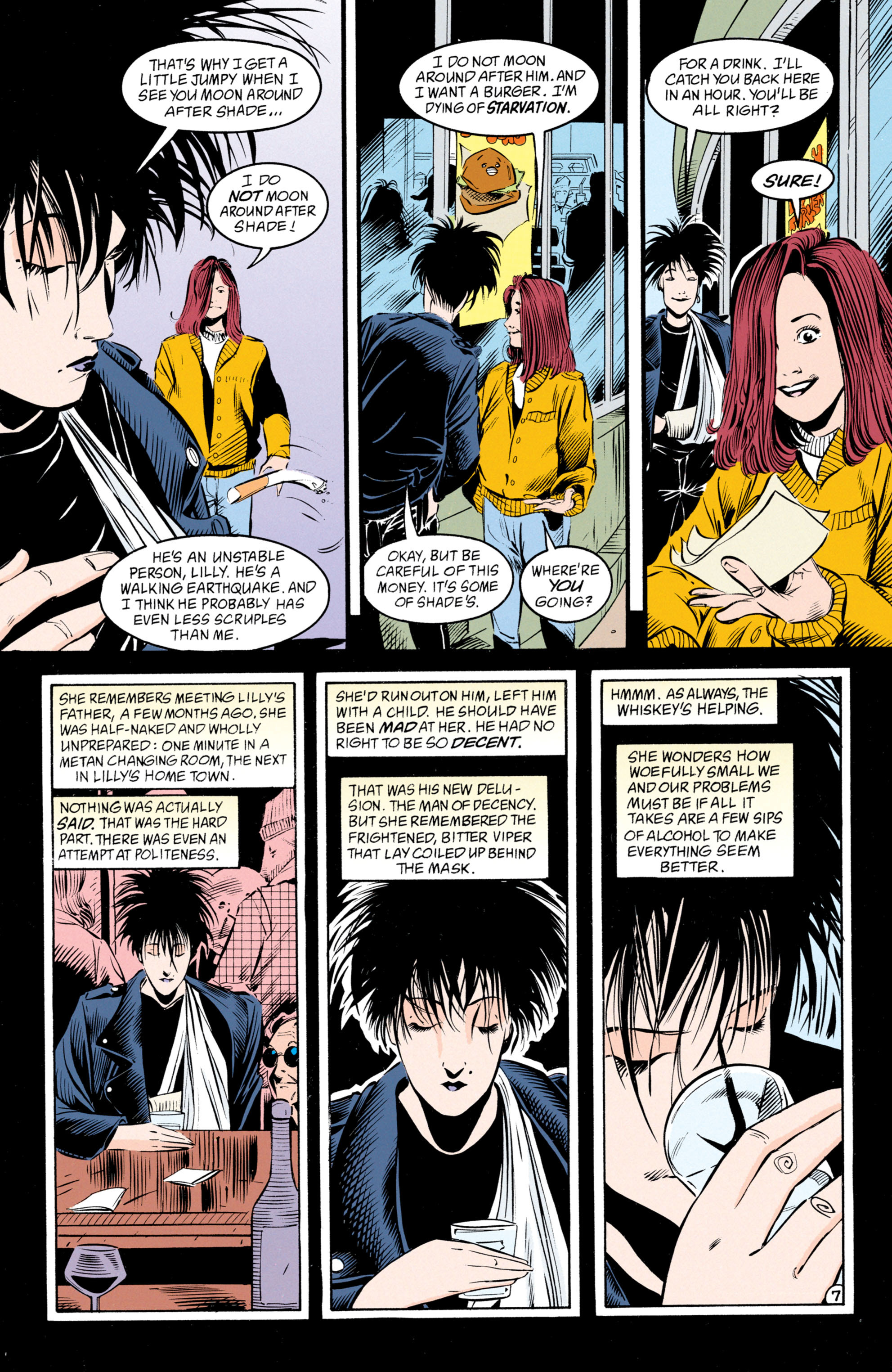 Read online Shade, the Changing Man comic -  Issue #50 - 8