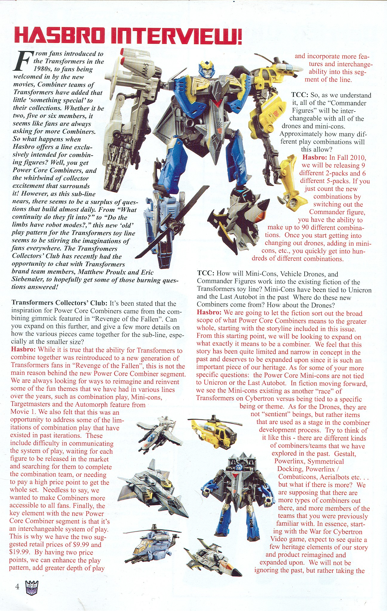 Read online Transformers: Collectors' Club comic -  Issue #32 - 4
