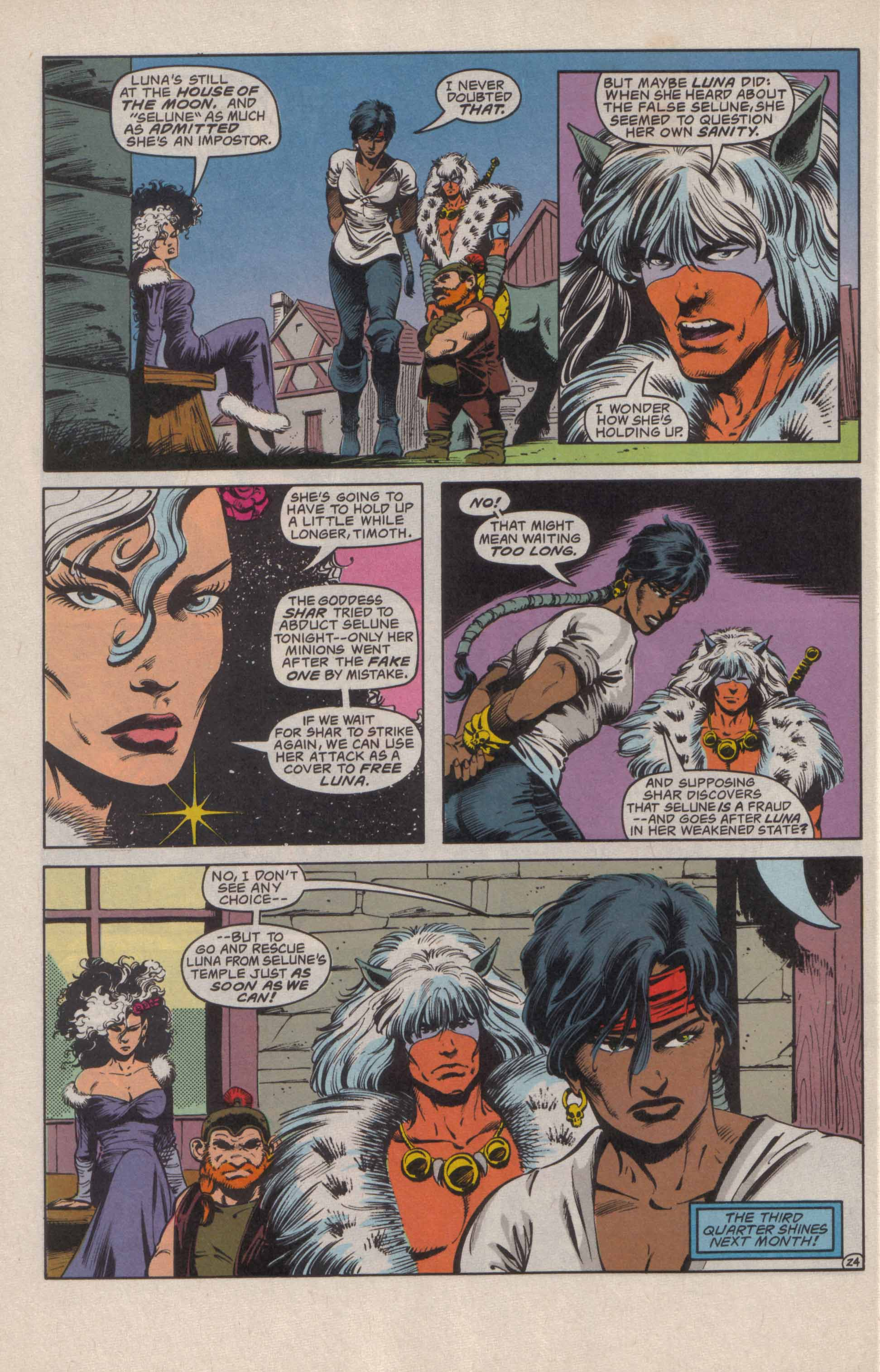 Read online Advanced Dungeons & Dragons comic -  Issue #20 - 25