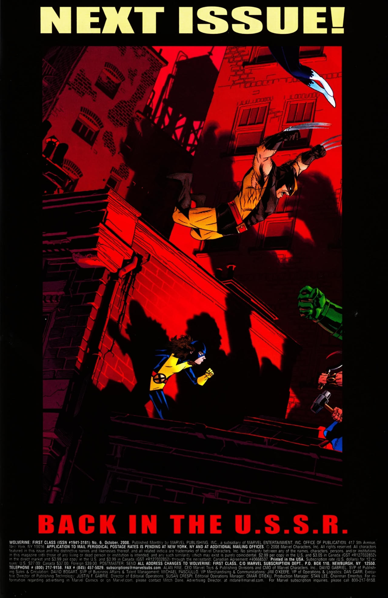 Read online Wolverine: First Class comic -  Issue #6 - 24