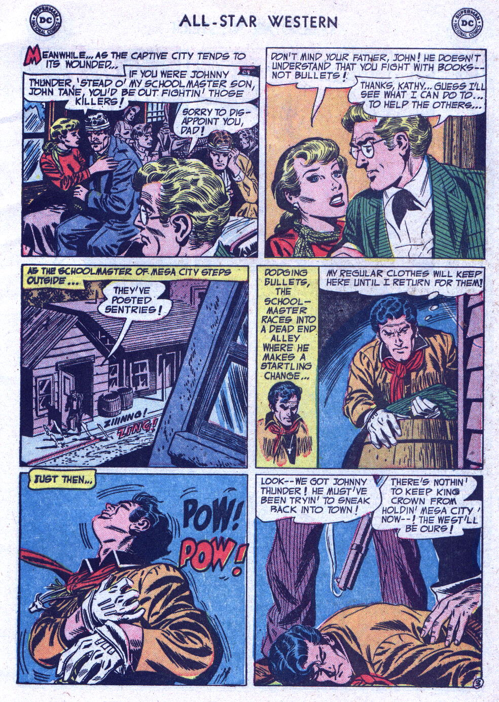 Read online All-Star Western (1951) comic -  Issue #71 - 5