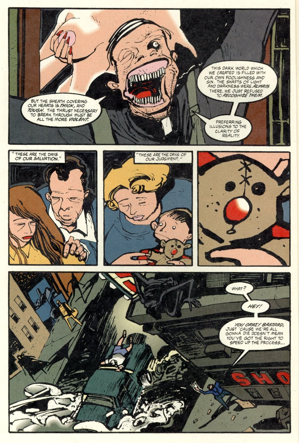 Read online Ted McKeever's Metropol comic -  Issue #10 - 4