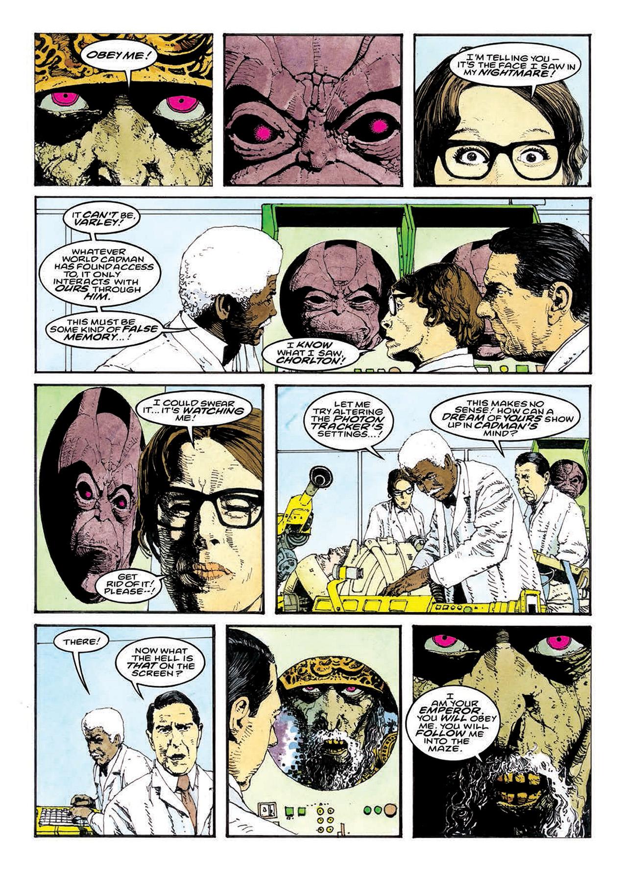 Read online Mazeworld comic -  Issue # TPB - 147
