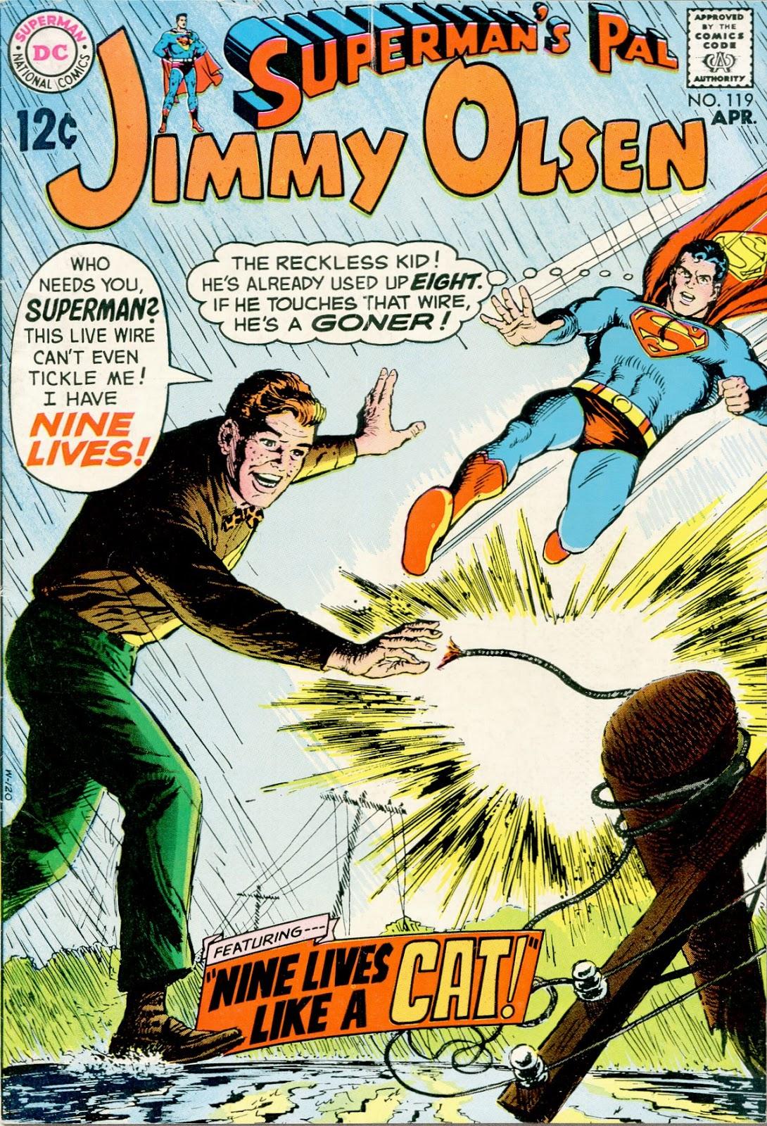 Supermans Pal Jimmy Olsen (1954) 119 Page 1