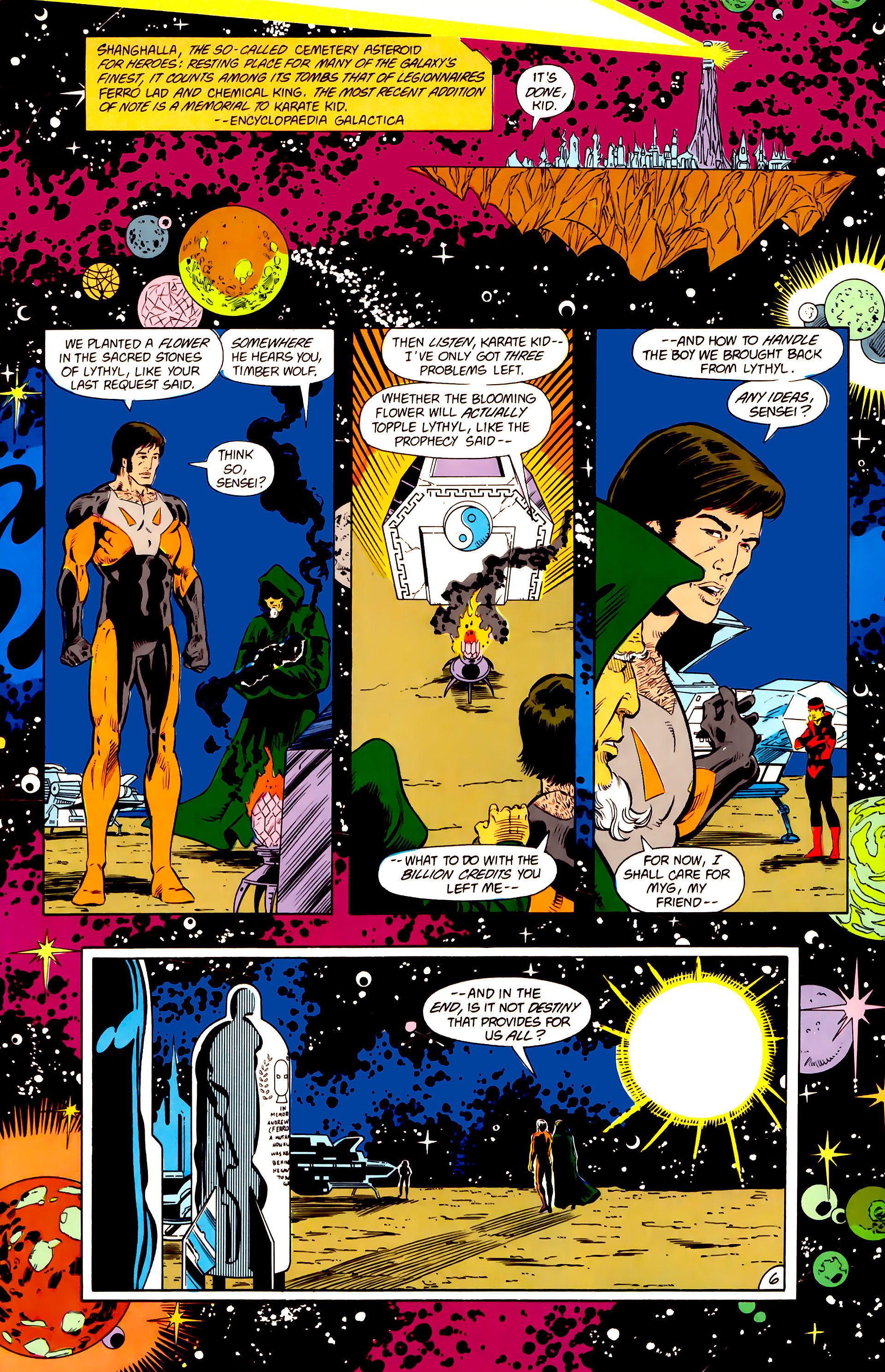 Legion of Super-Heroes (1984) 15 Page 7