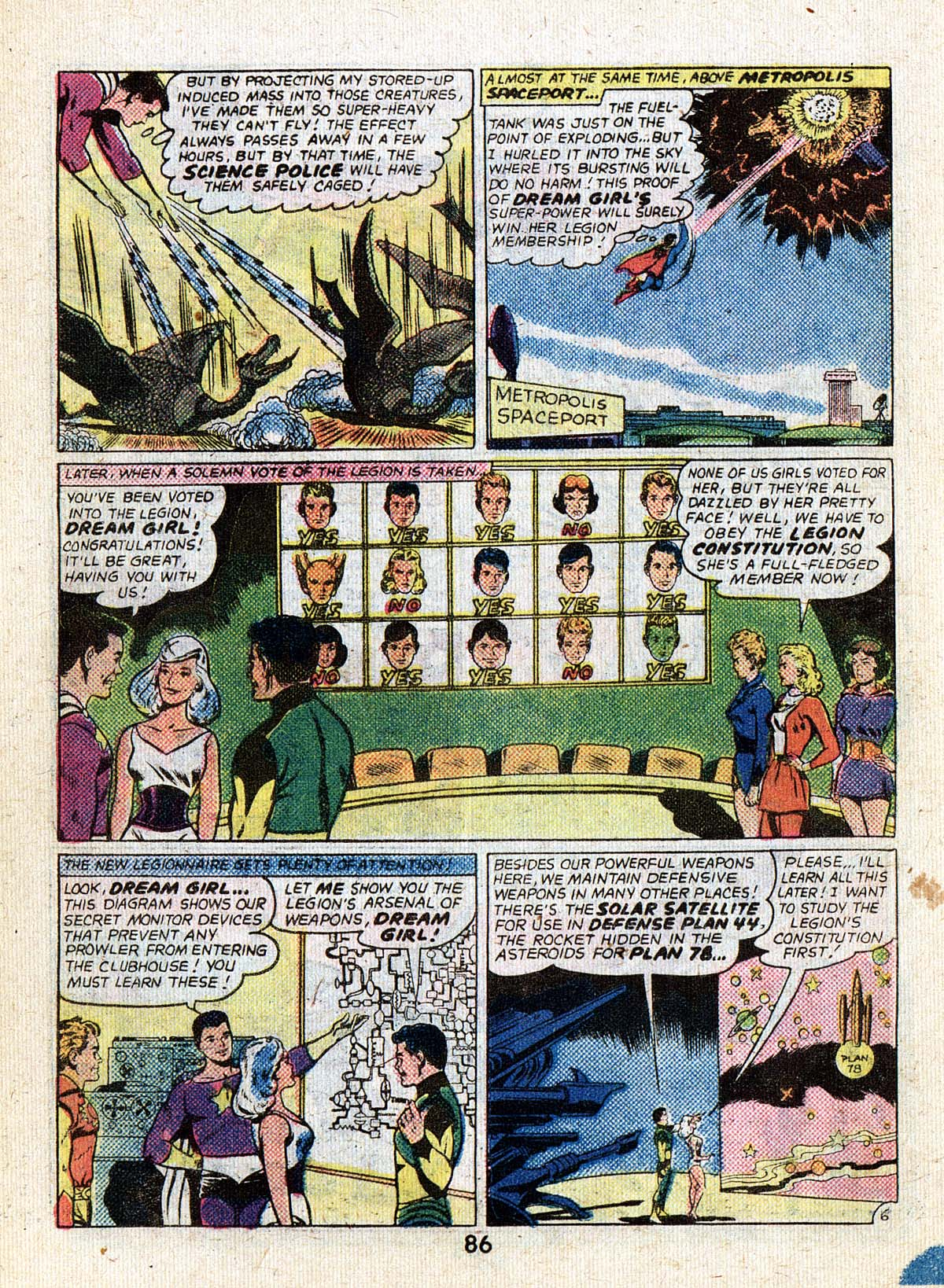 Read online Adventure Comics (1938) comic -  Issue #502 - 86