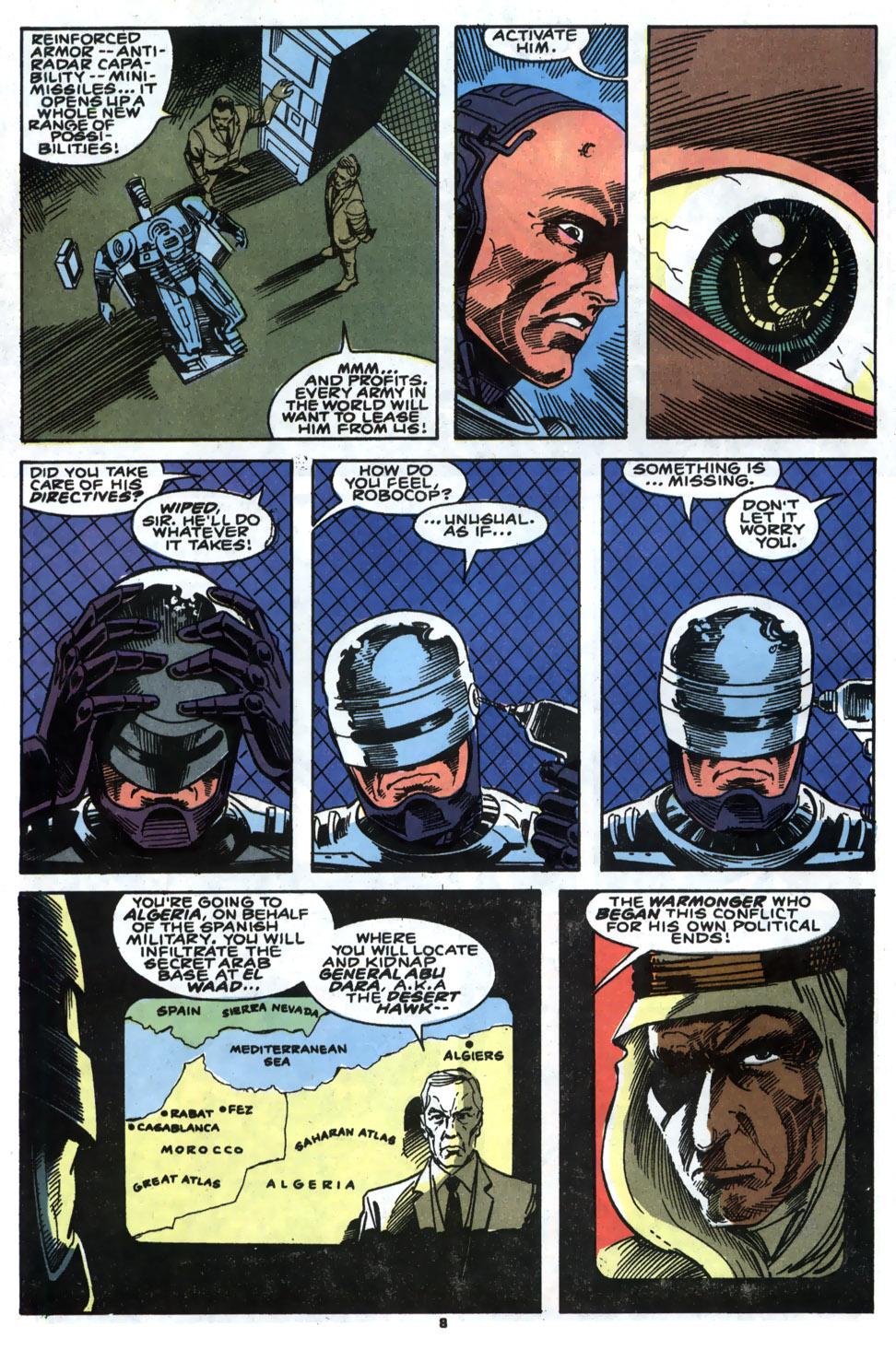 Read online Robocop (1990) comic -  Issue #5 - 7