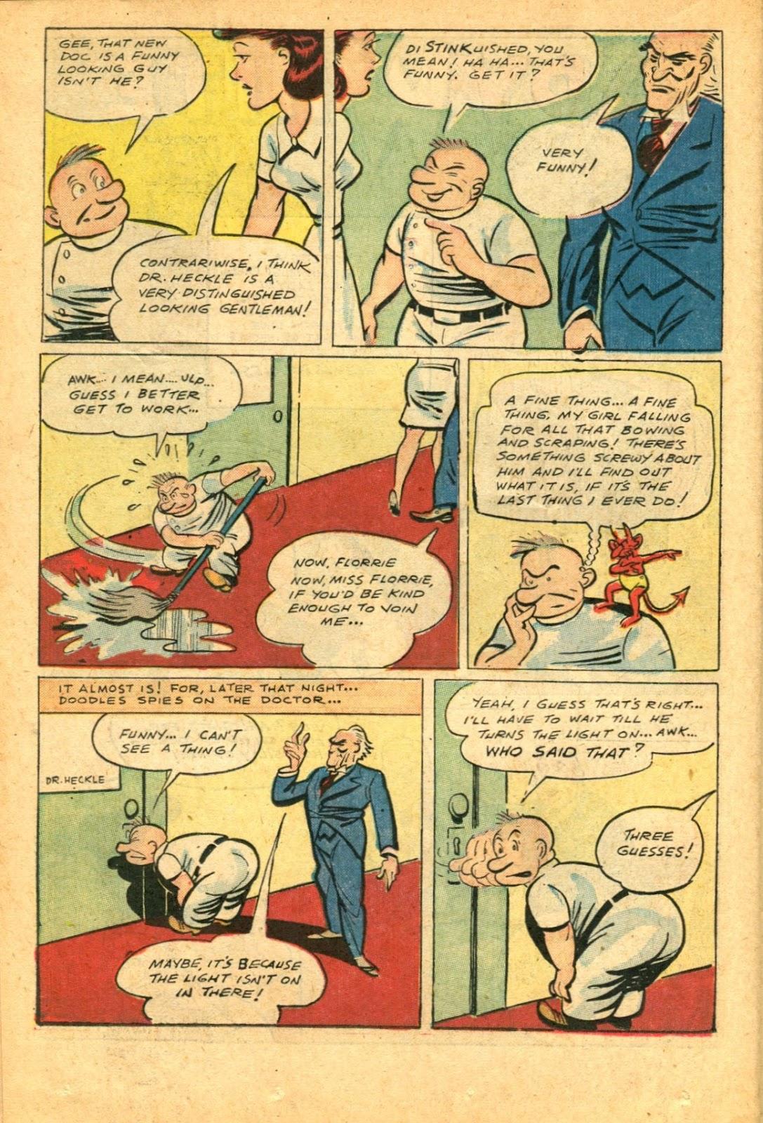 Read online Super-Magician Comics comic -  Issue #49 - 36
