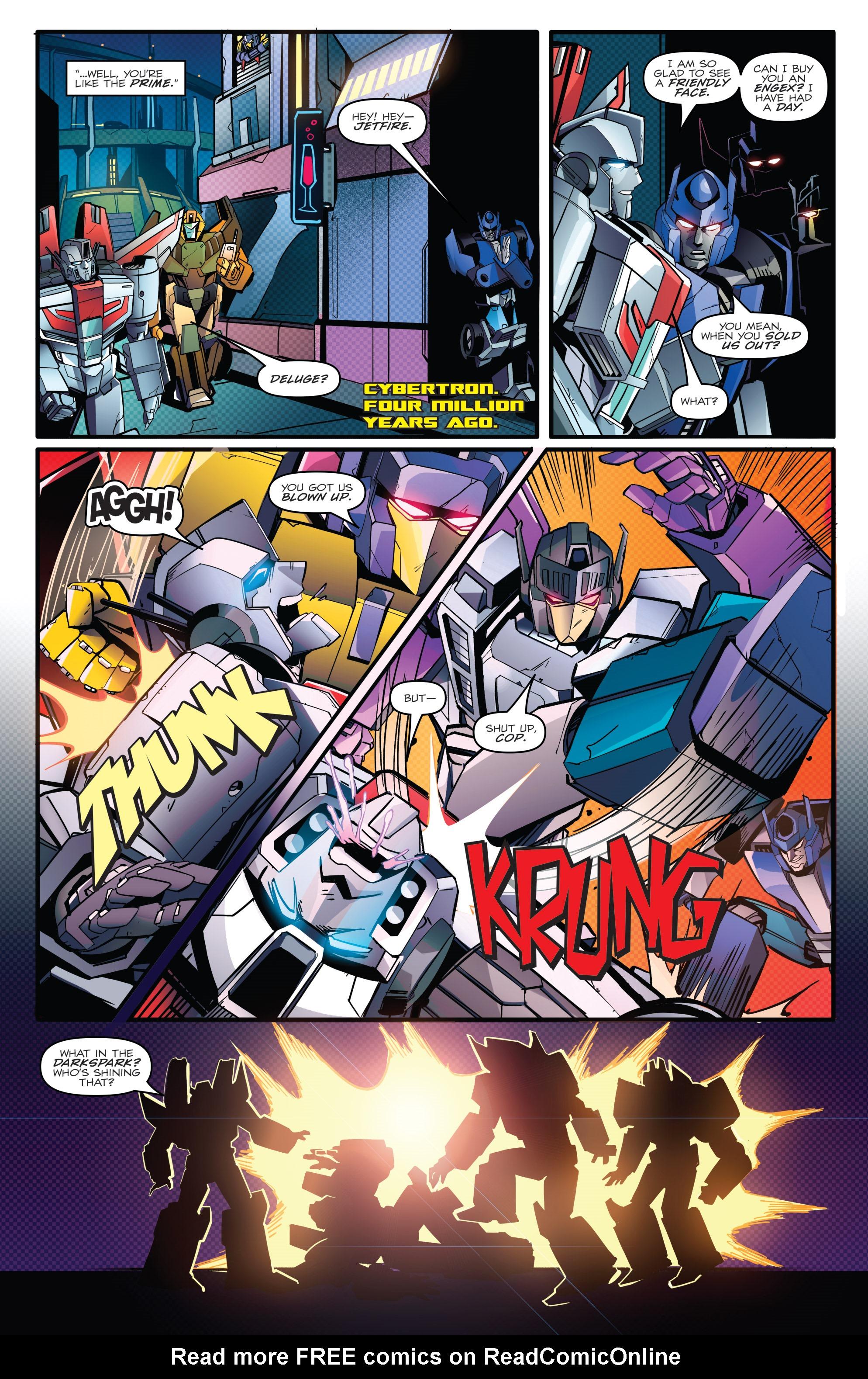 Read online Optimus Prime comic -  Issue #7 - 18