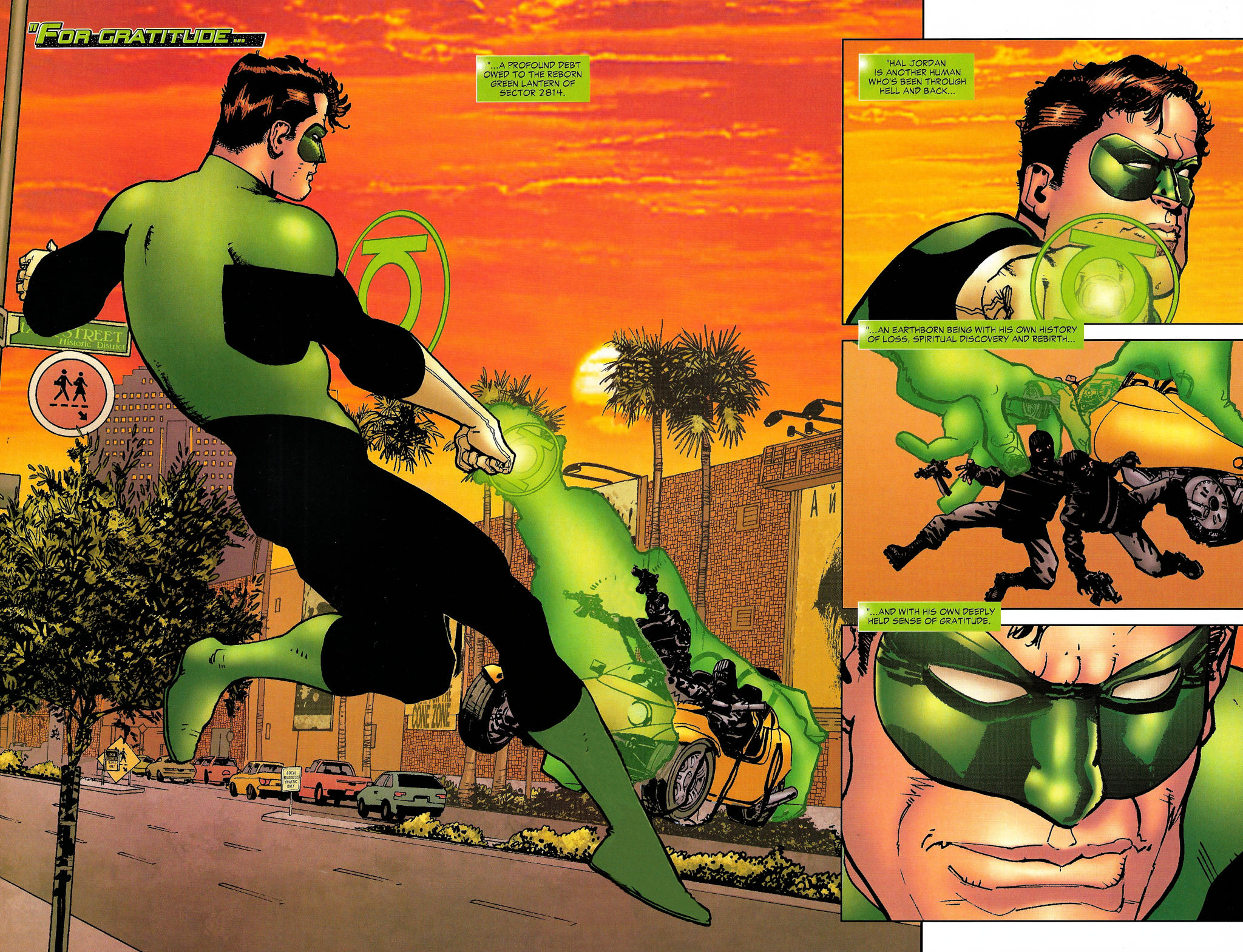 Read online Guy Gardner: Collateral Damage comic -  Issue #1 - 7