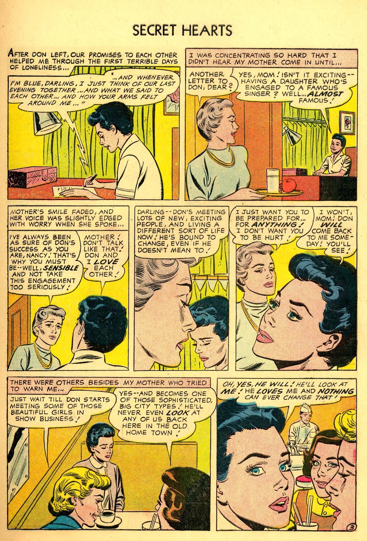 Read online Secret Hearts comic -  Issue #34 - 5