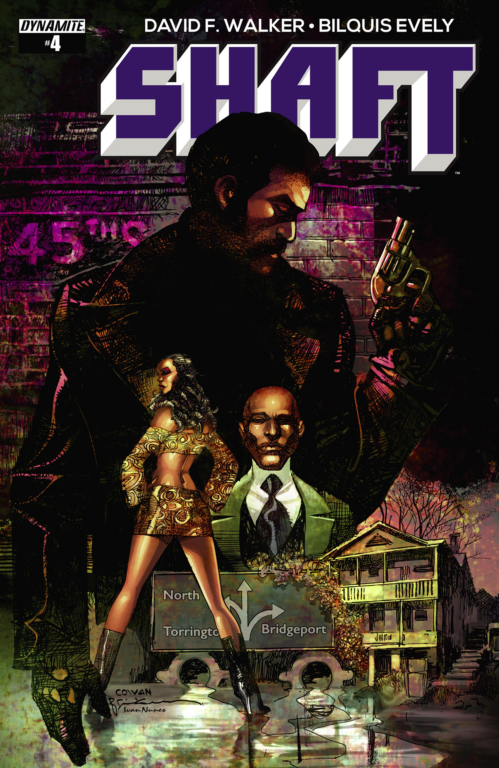 Read online Shaft comic -  Issue #4 - 1
