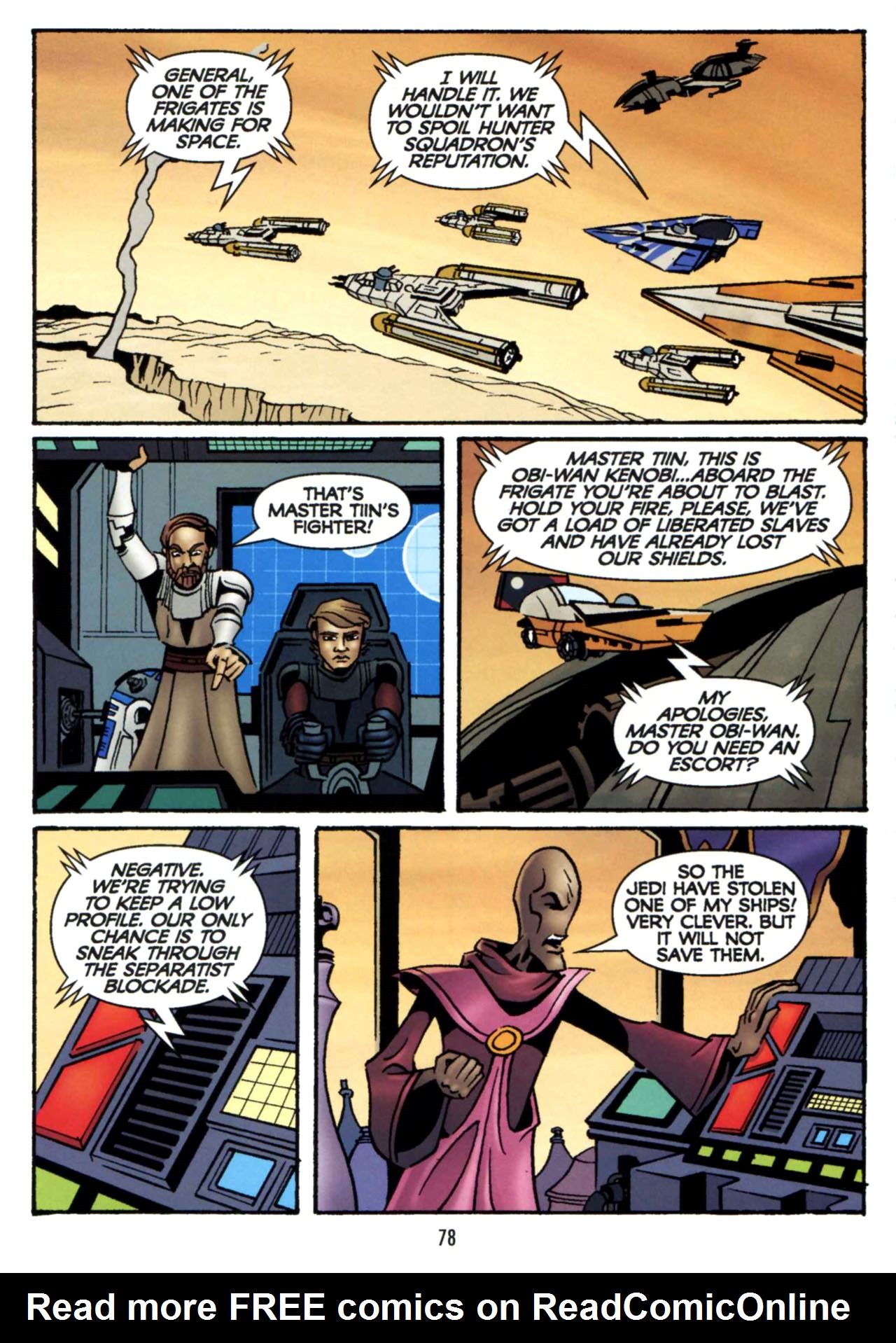 Read online Star Wars: The Clone Wars - Shipyards of Doom comic -  Issue # Full - 76