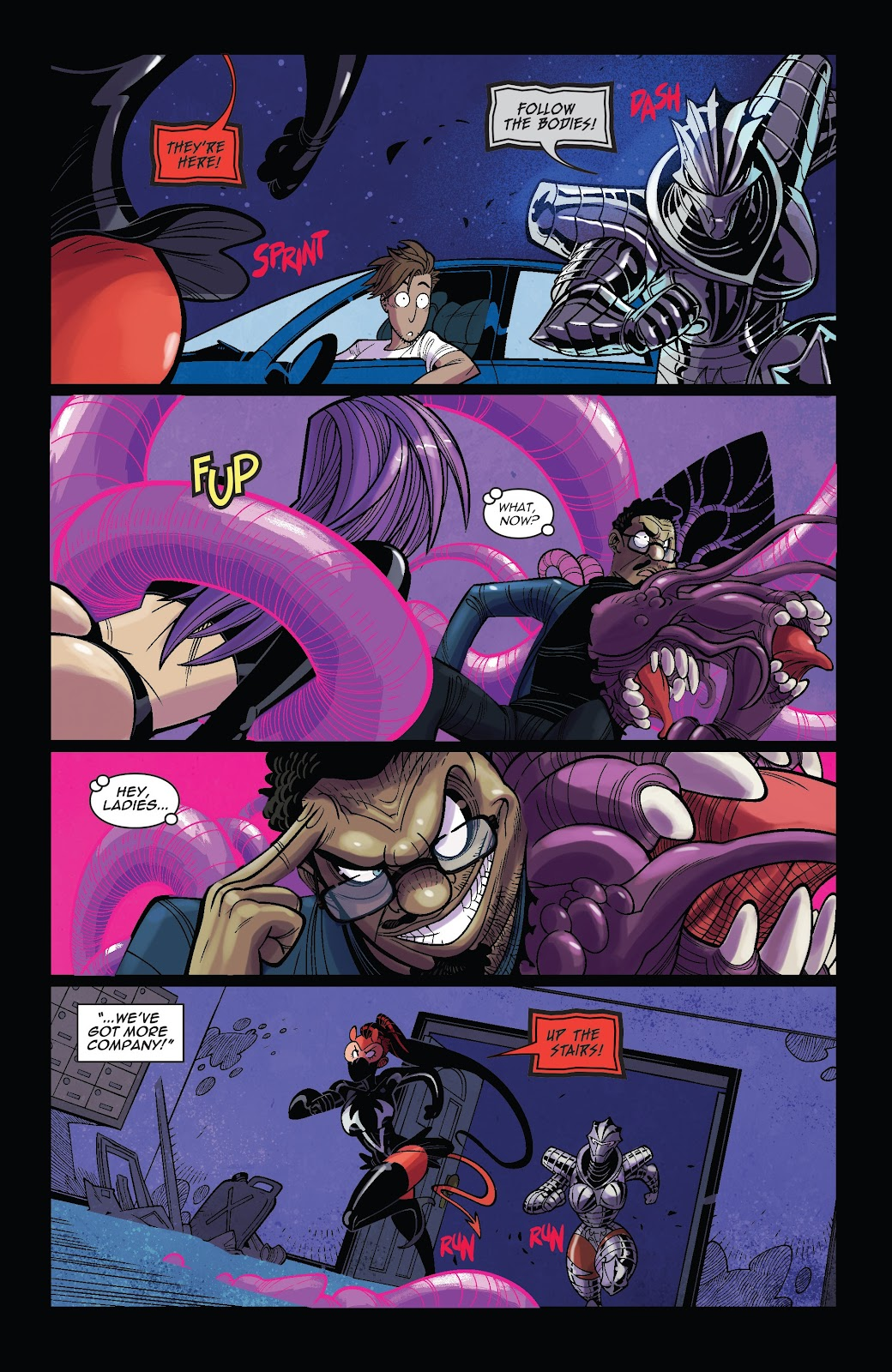 Read online Vampblade Season 3 comic -  Issue #10 - 12
