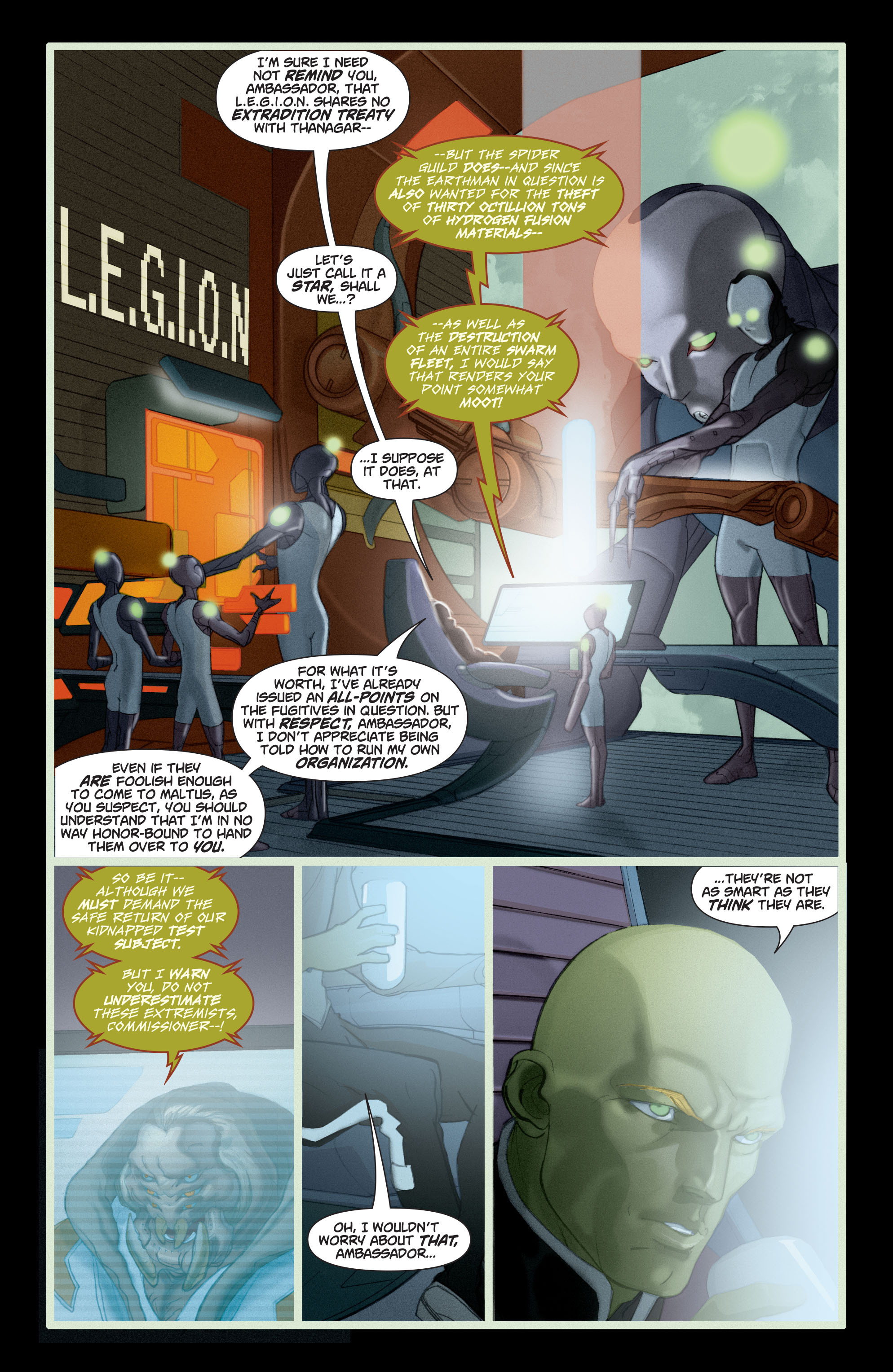 Read online Adam Strange (2004) comic -  Issue #5 - 18