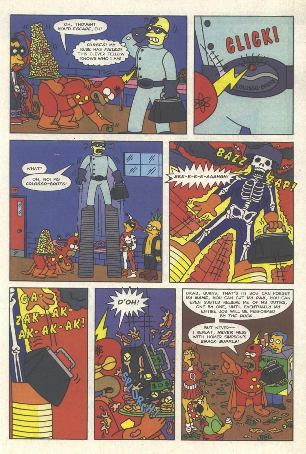 Read online Simpsons Comics comic -  Issue #31 - 6
