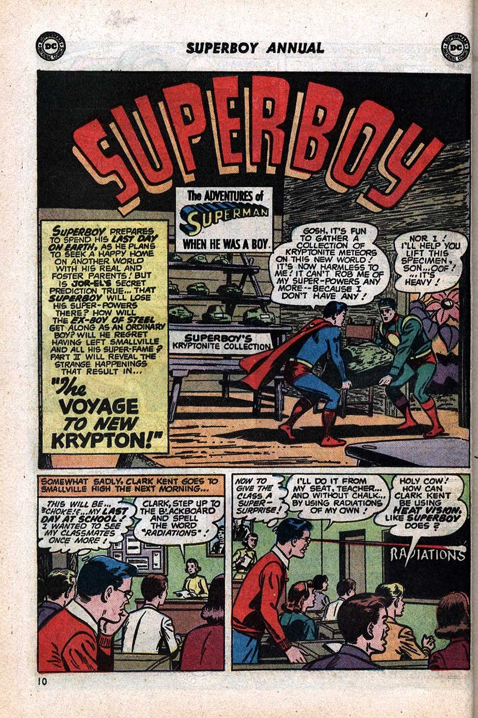 Superboy (1949) issue Annual 1 - Page 12