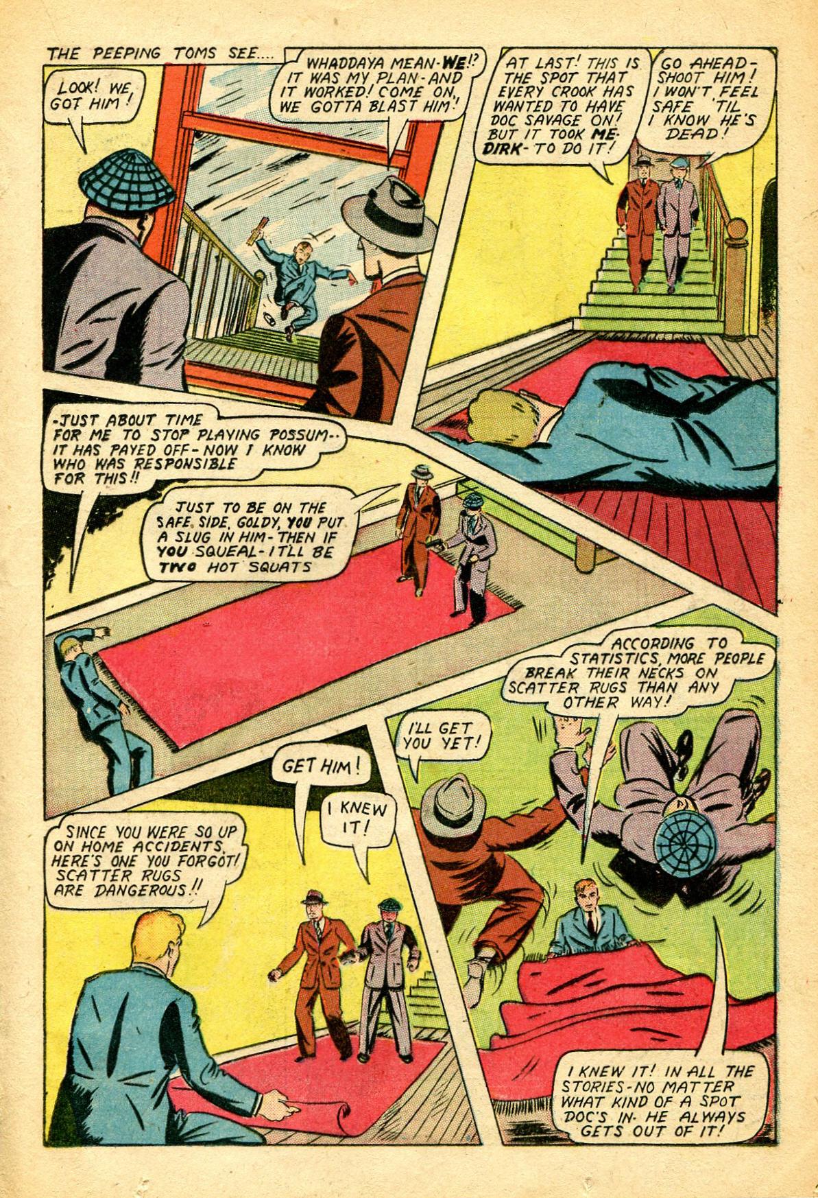 Read online Shadow Comics comic -  Issue #51 - 24