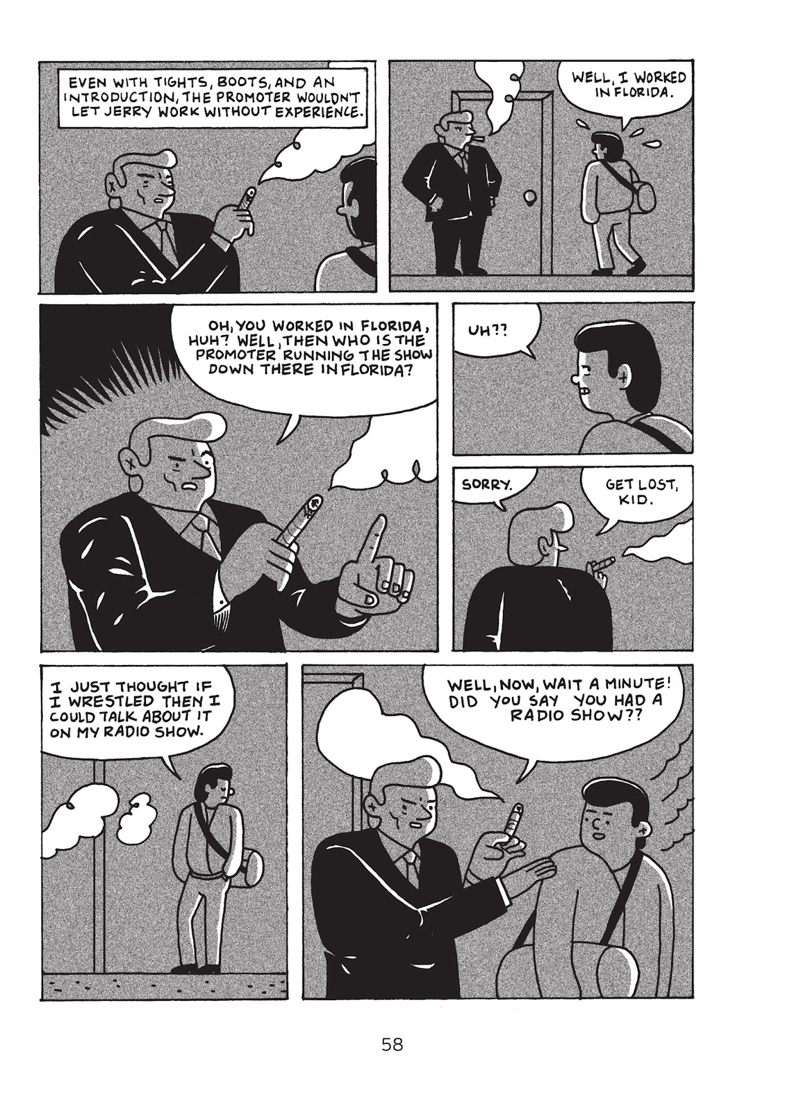 Read online Is This Guy For Real?: The Unbelievable Andy Kaufman comic -  Issue # TPB (Part 1) - 63