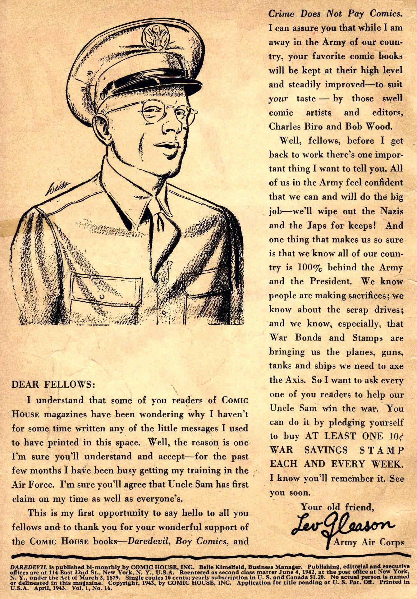 Daredevil (1941) issue 16 - Page 2