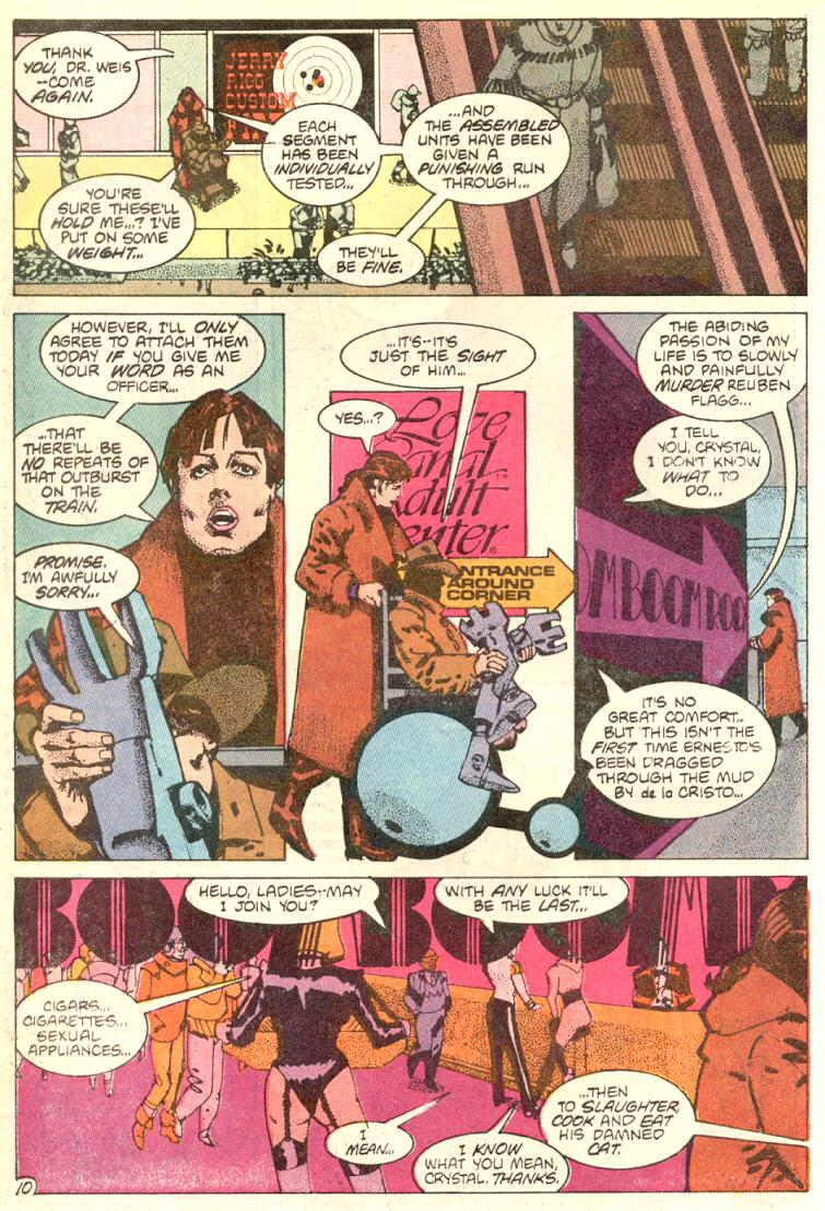 Read online American Flagg! comic -  Issue #9 - 11