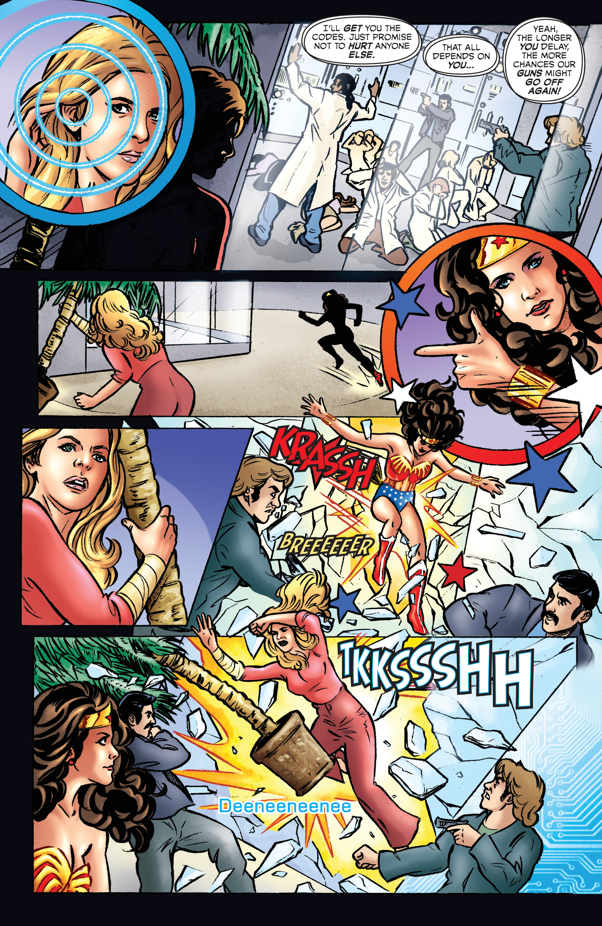 Read online Wonder Woman '77 Meets The Bionic Woman comic -  Issue #1 - 19