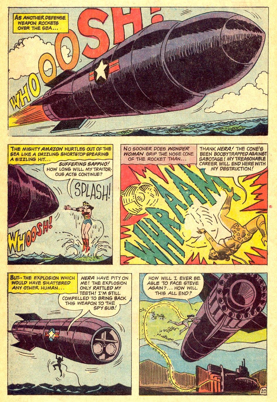 Read online Wonder Woman (1942) comic -  Issue #164 - 28