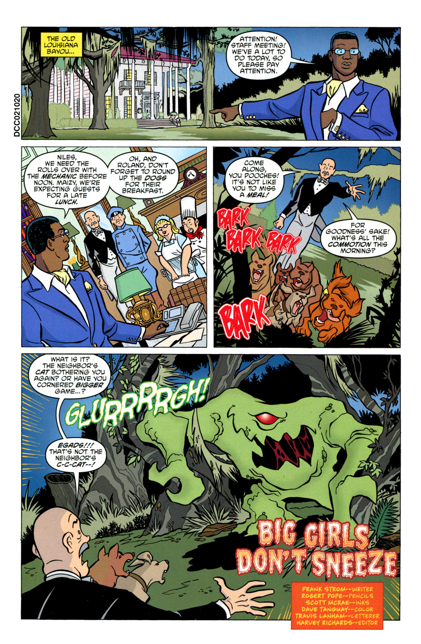 Read online Scooby-Doo: Where Are You? comic -  Issue #17 - 21