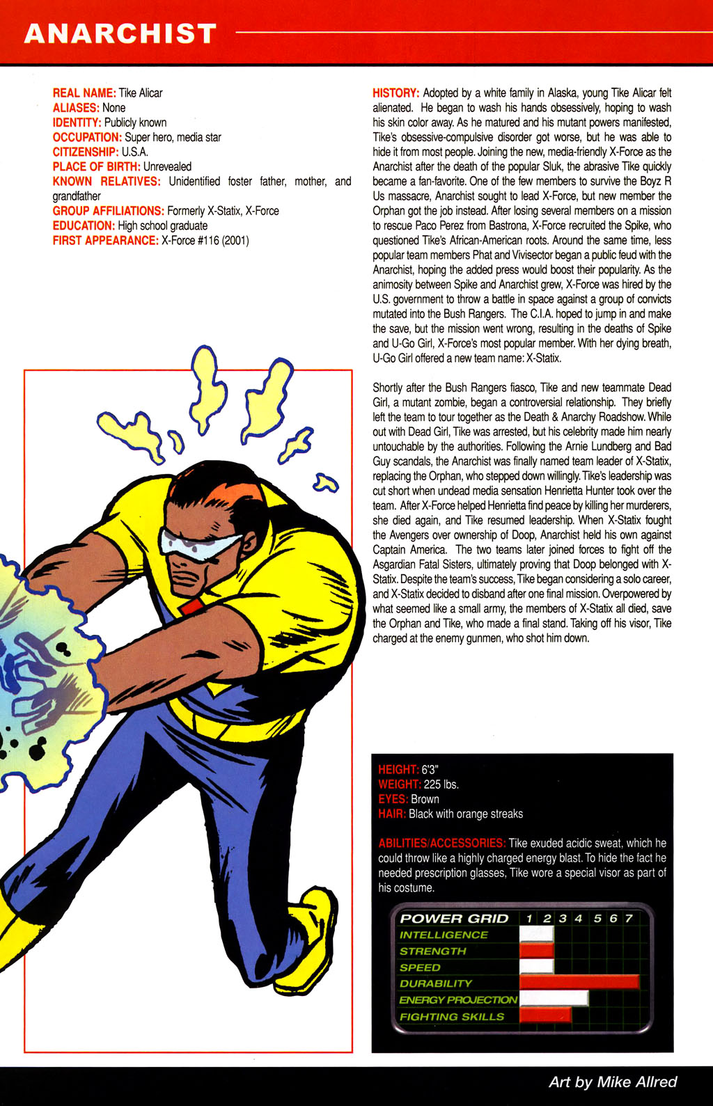 Read online All-New Official Handbook of the Marvel Universe A to Z comic -  Issue #1 - 22