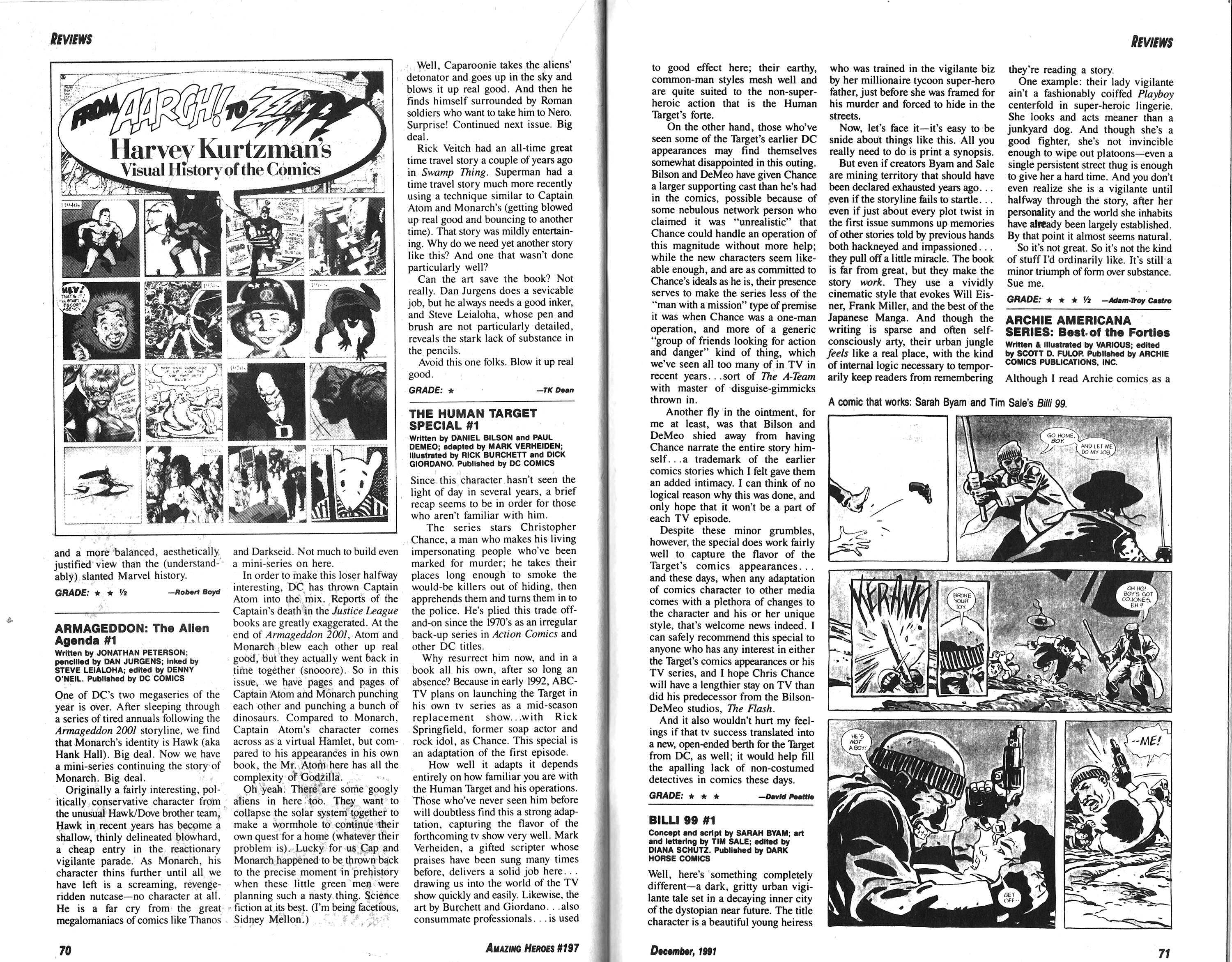 Read online Amazing Heroes comic -  Issue #197 - 36