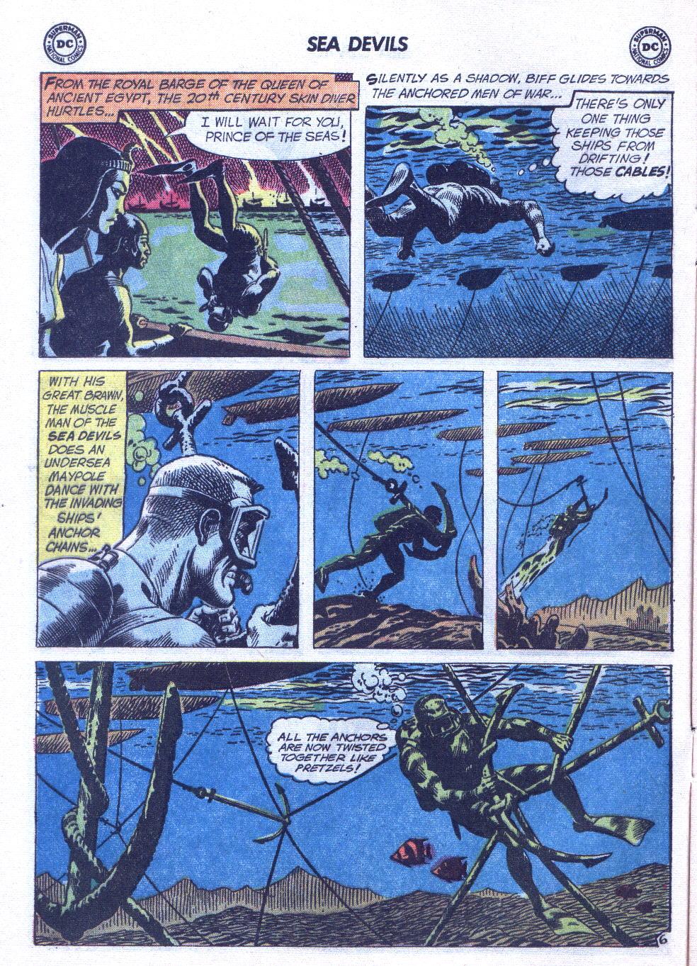 Read online Sea Devils comic -  Issue #6 - 9