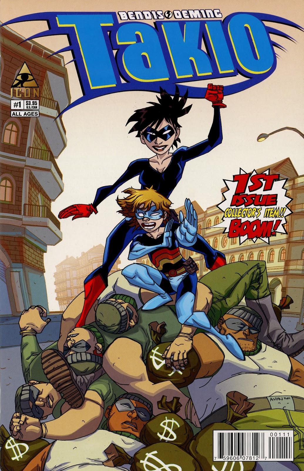 Read online Takio (2012) comic -  Issue #1 - 1