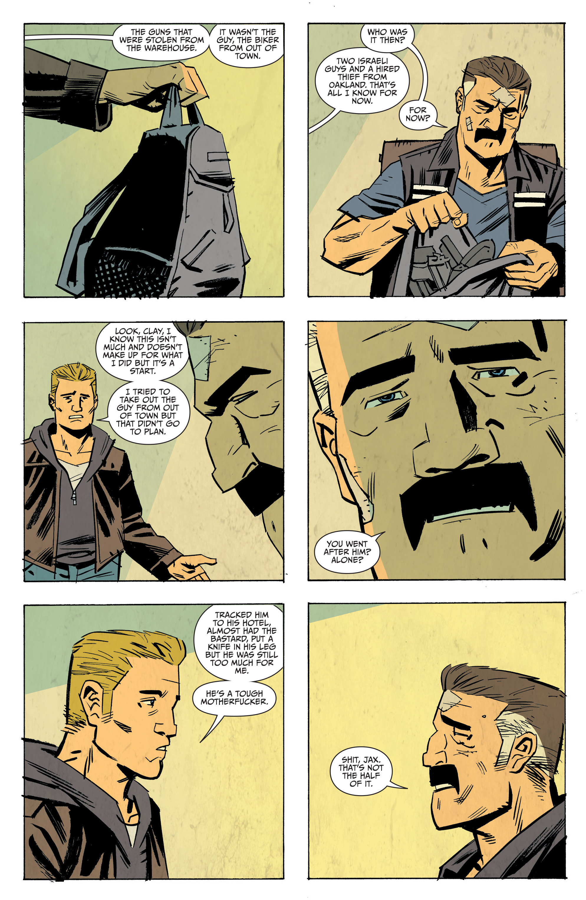 Read online Sons of Anarchy: Redwood Original comic -  Issue #8 - 15