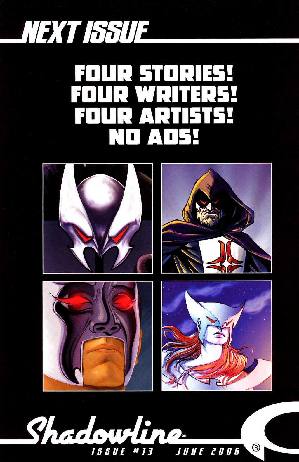 Read online ShadowHawk (2005) comic -  Issue #12 - 30