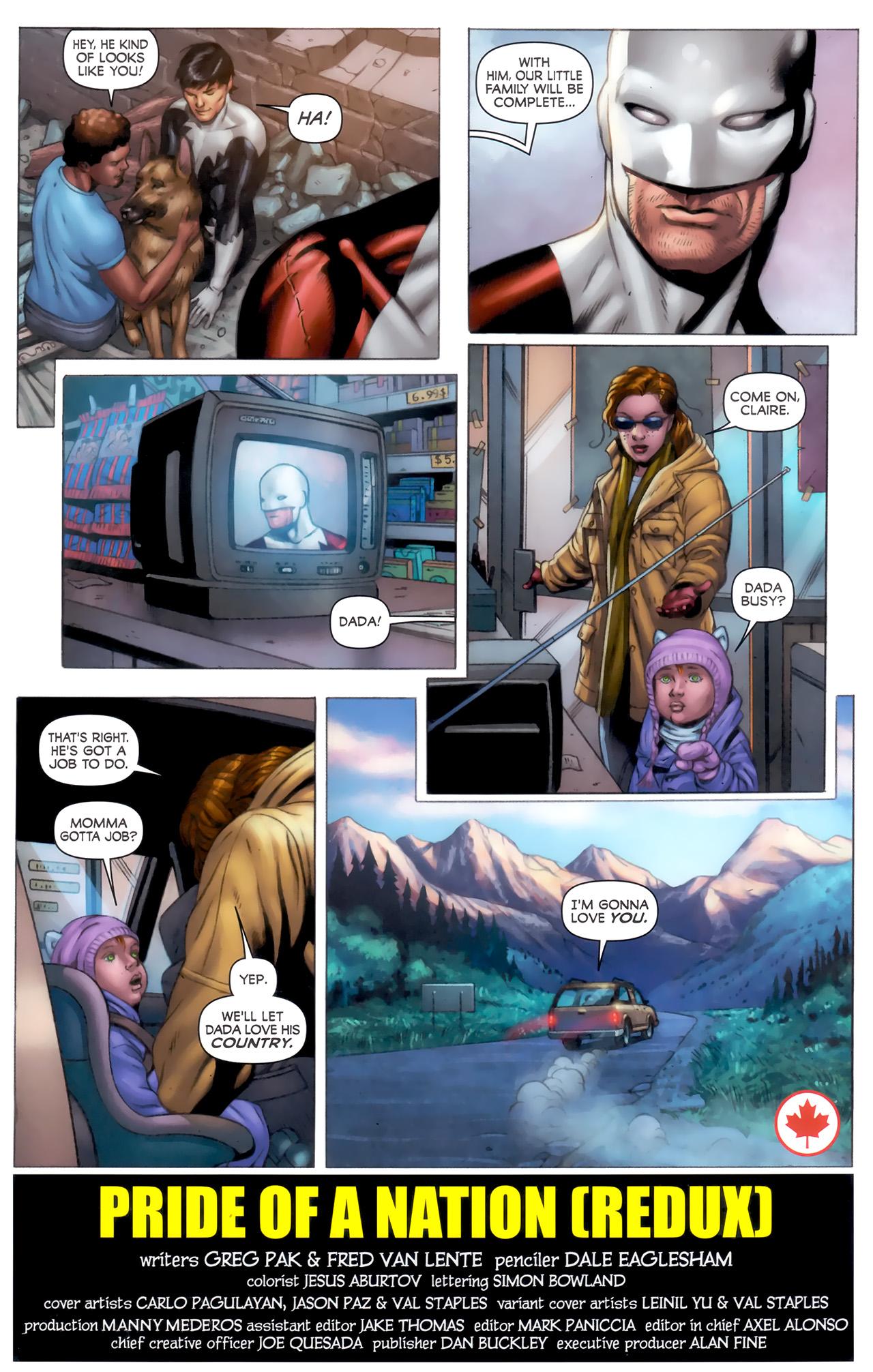Read online Alpha Flight (2011) comic -  Issue #8 - 23